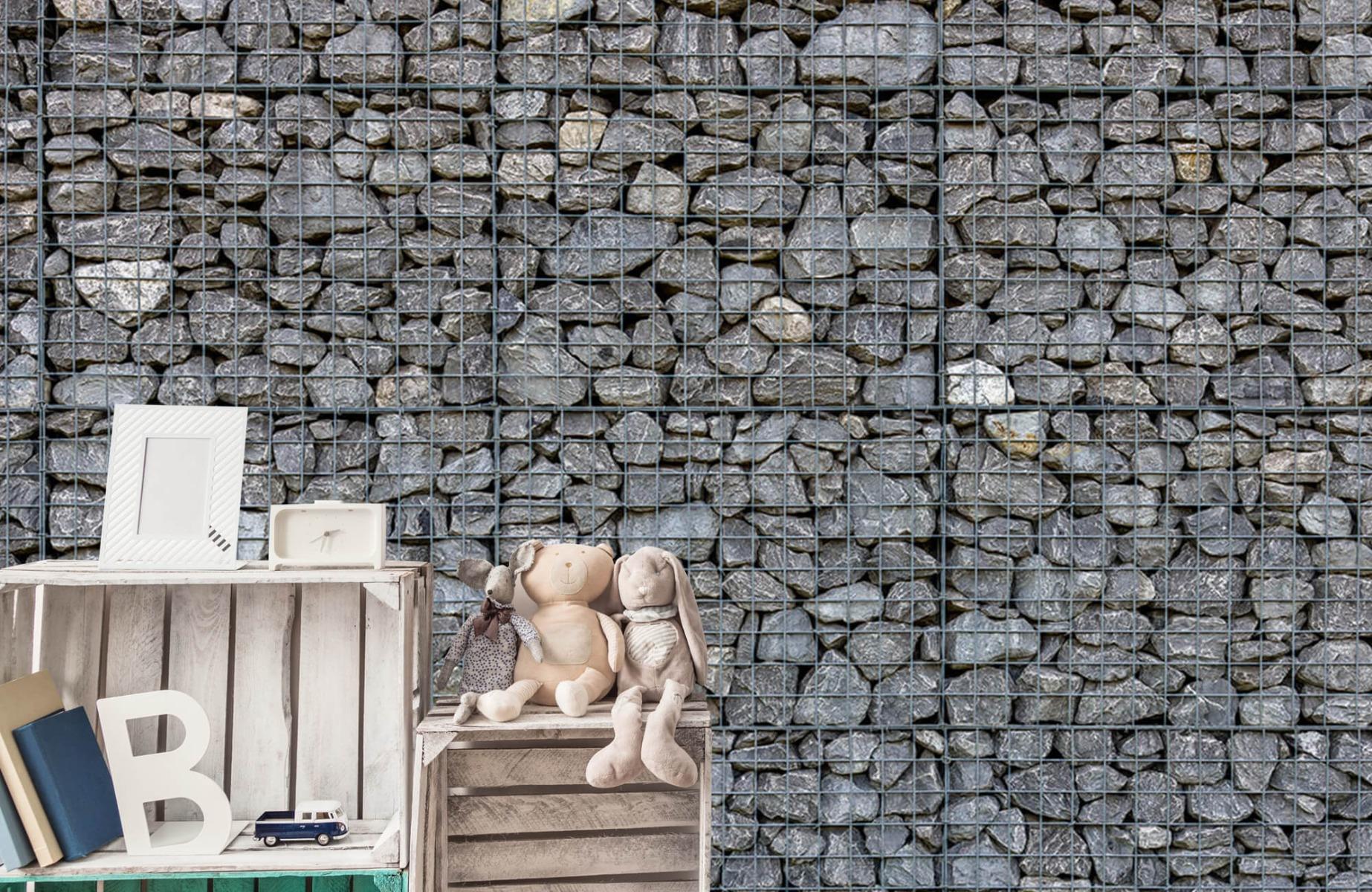 Steen behang - Steenkorf - Wallexclusive - Slaapkamer 19