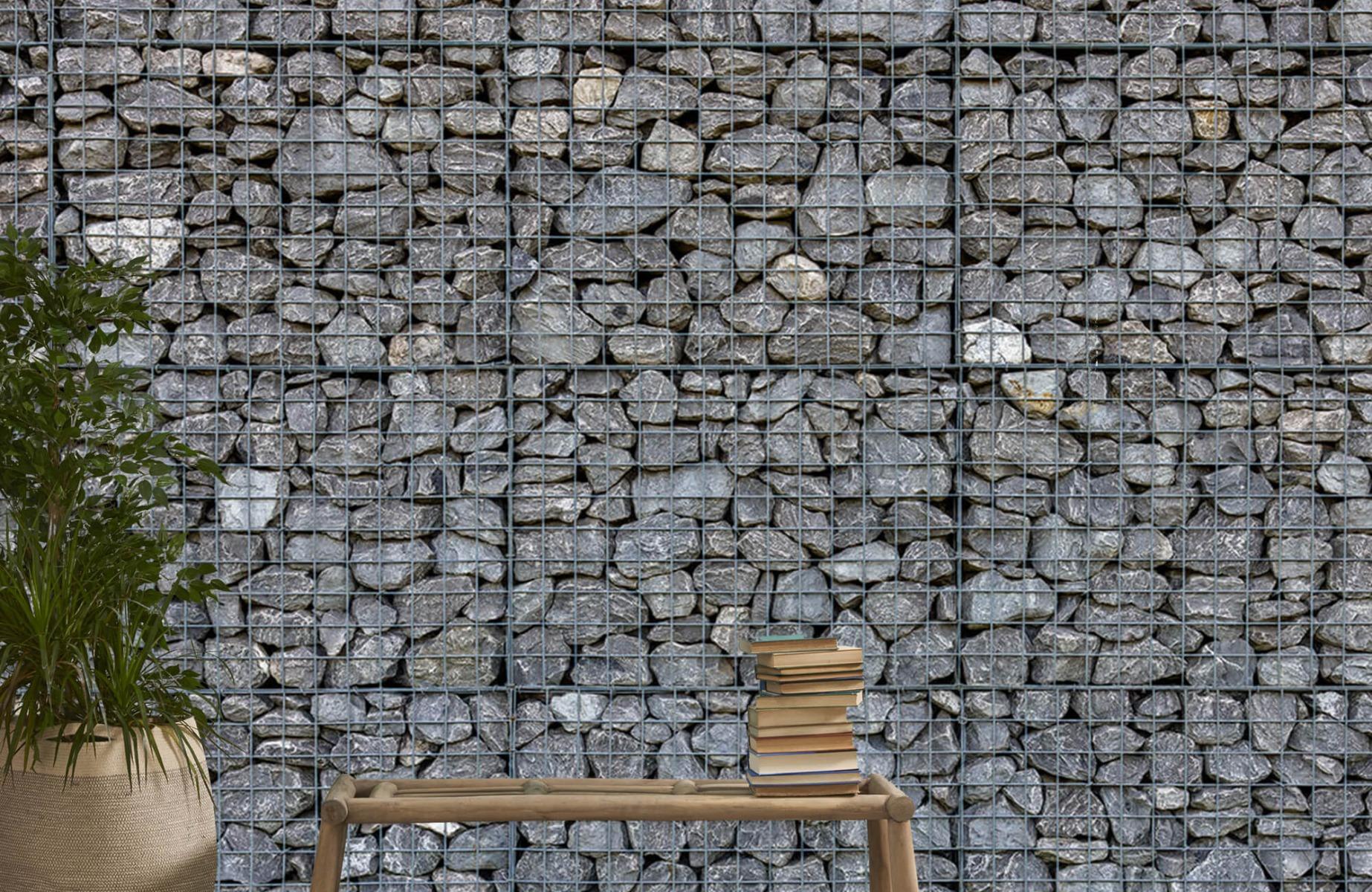 Steen behang - Steenkorf - Wallexclusive - Slaapkamer 20