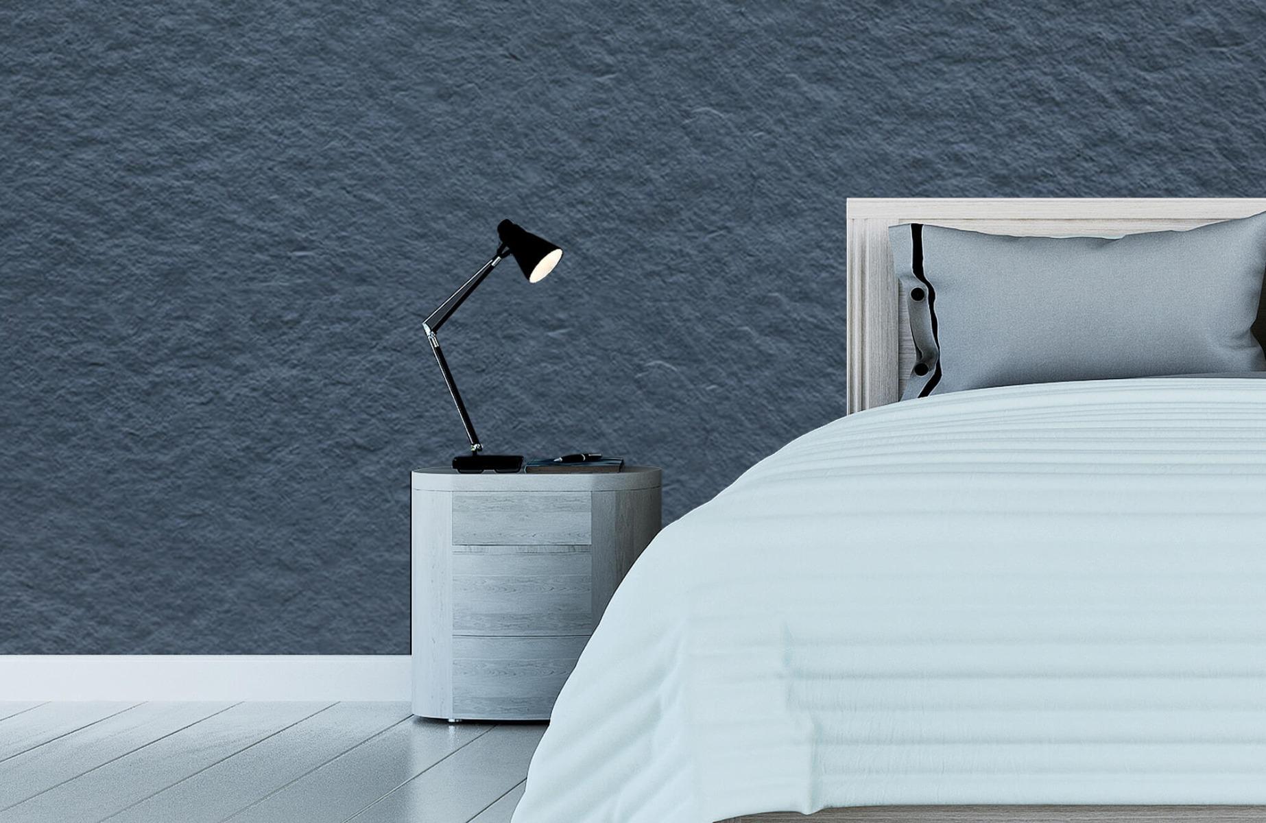 Betonlook behang - Grove structuur - Wallexclusive - Slaapkamer 13