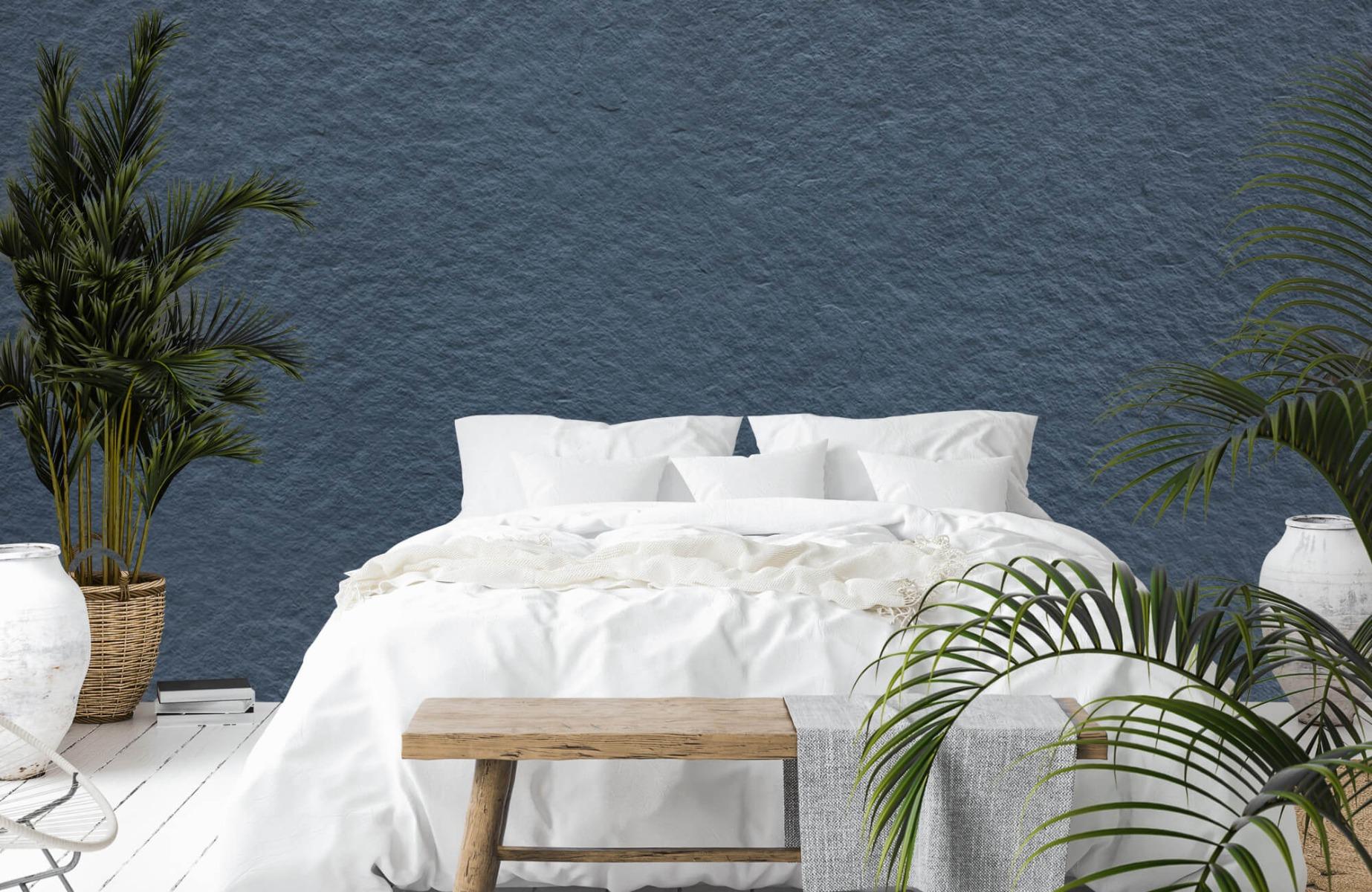 Betonlook behang - Grove structuur - Wallexclusive - Slaapkamer 1
