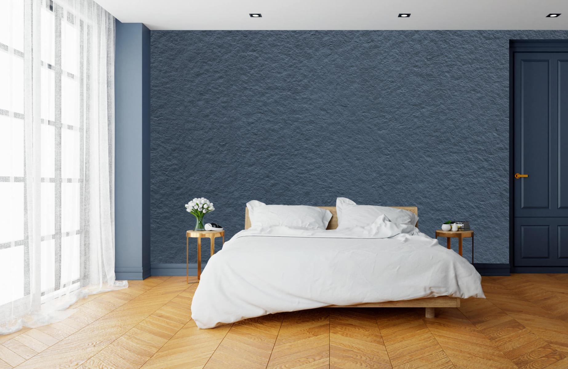 Betonlook behang - Grove structuur - Wallexclusive - Slaapkamer 15