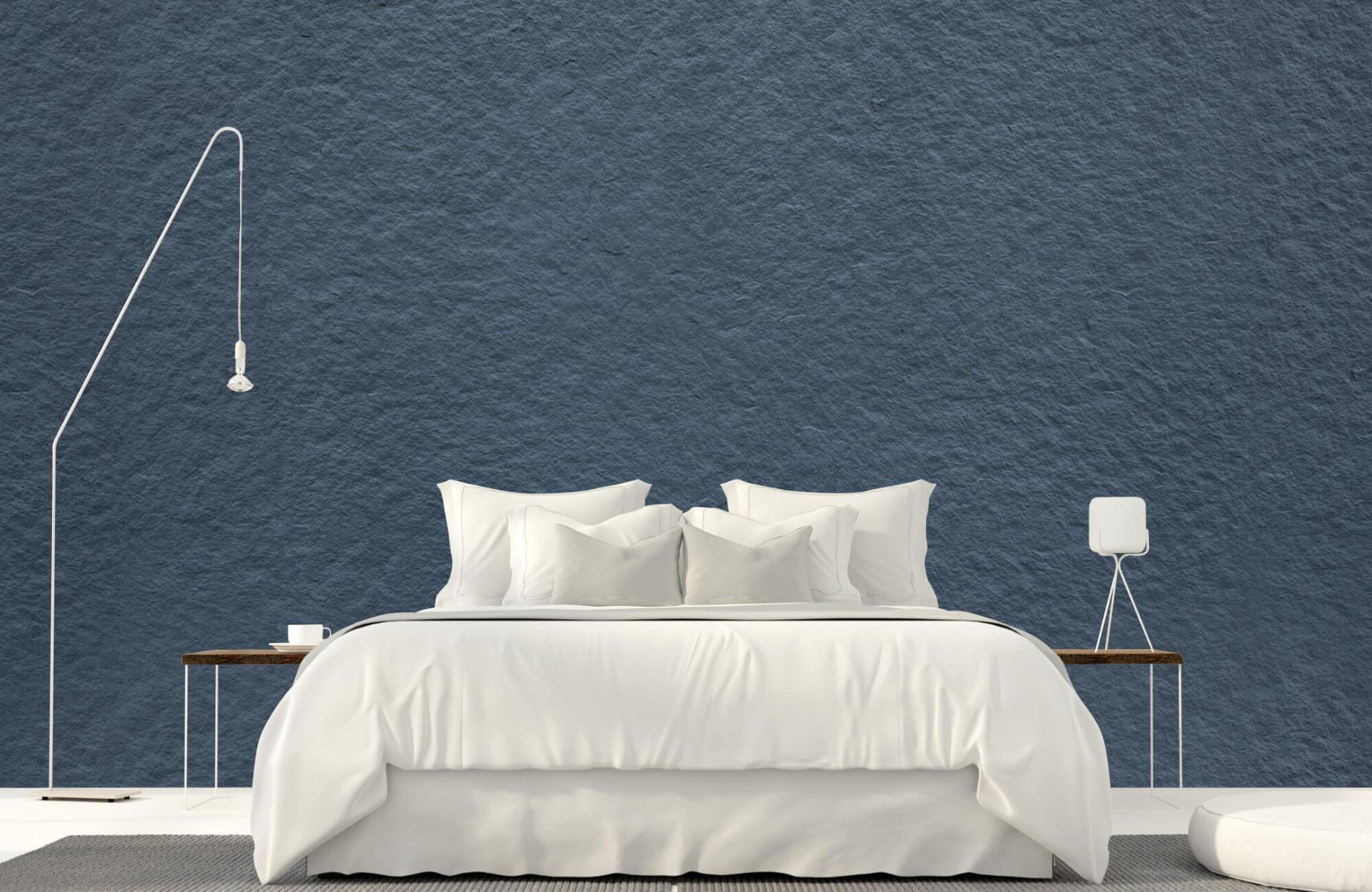 Betonlook behang - Grove structuur - Wallexclusive - Slaapkamer 16