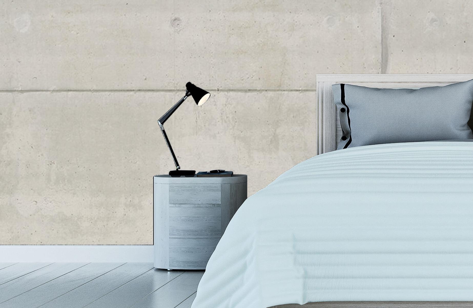 Betonlook behang - Betonnen platen - Wallexclusive - Vergaderruimte 16