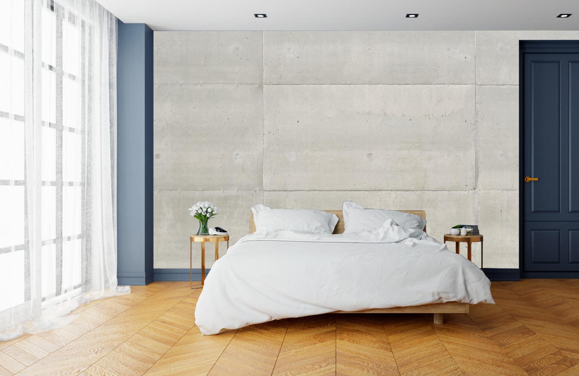 Betonlook behang - Betonnen platen - Wallexclusive - Vergaderruimte 3