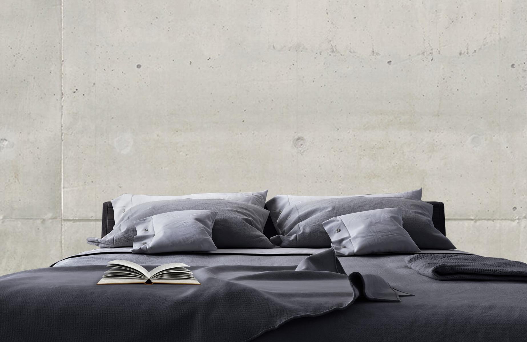 Betonlook behang - Betonnen platen - Wallexclusive - Vergaderruimte 20