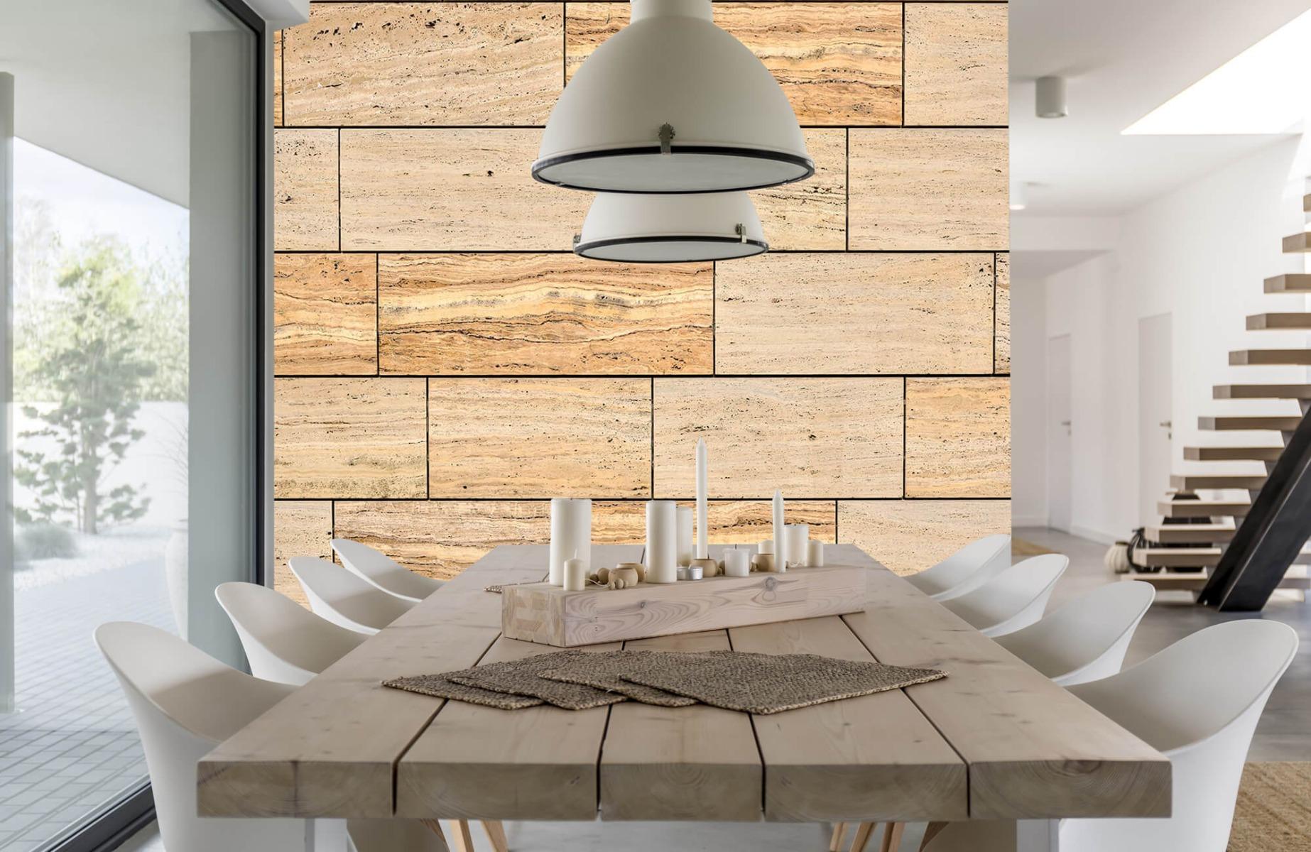 Steen behang - Marmeren muur - Wallexclusive - Slaapkamer 5