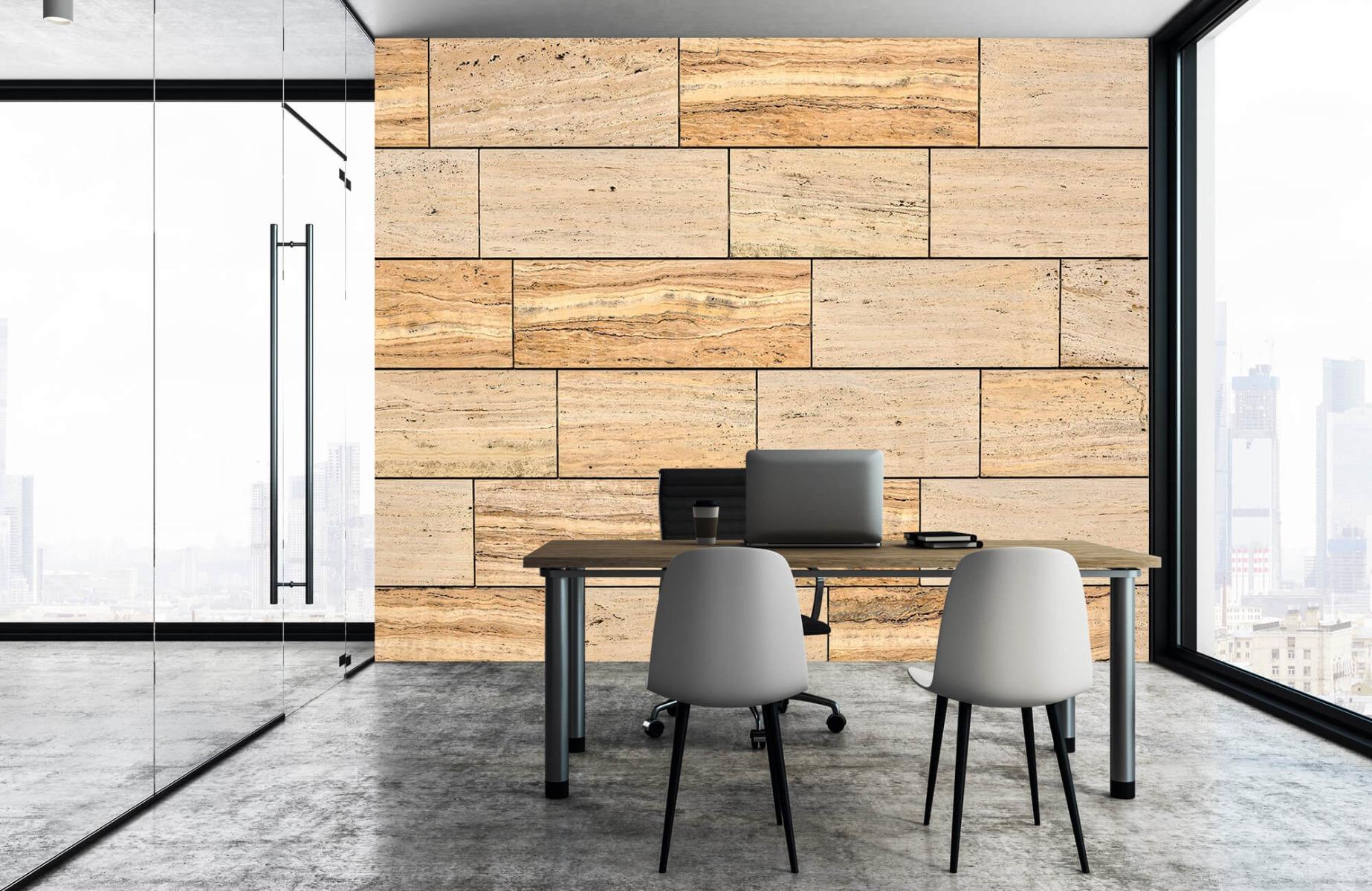 Steen behang - Marmeren muur - Wallexclusive - Slaapkamer 7