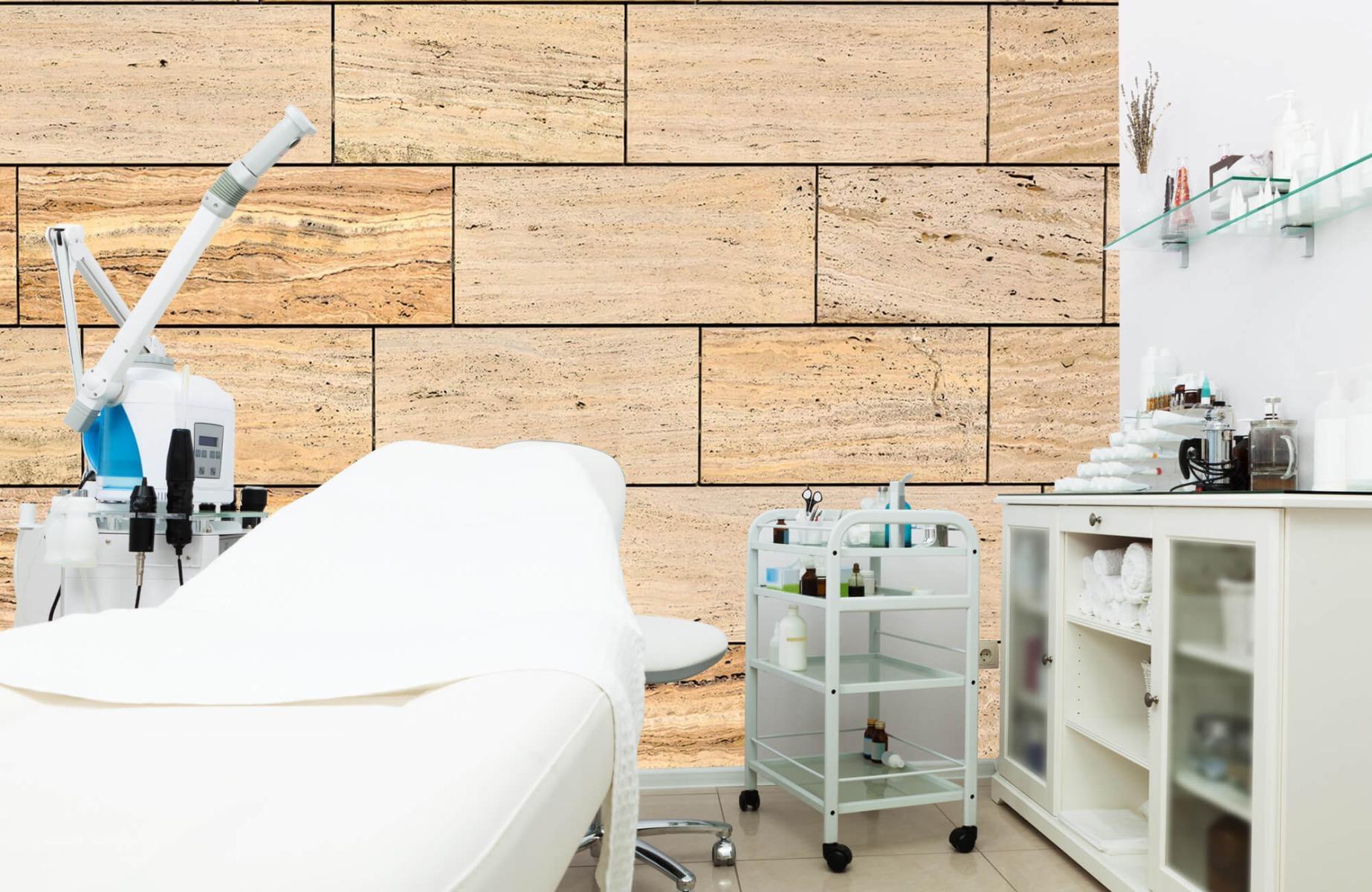 Steen behang - Marmeren muur - Wallexclusive - Slaapkamer 8
