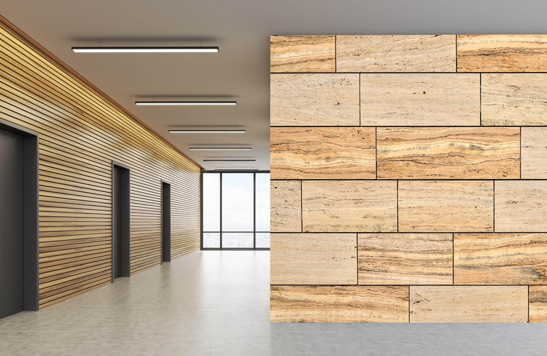 Steen behang - Marmeren muur - Wallexclusive - Slaapkamer 9