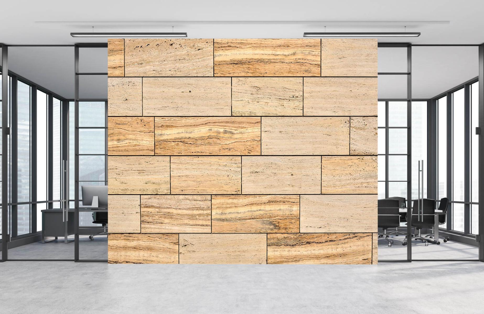 Steen behang - Marmeren muur - Wallexclusive - Slaapkamer 10