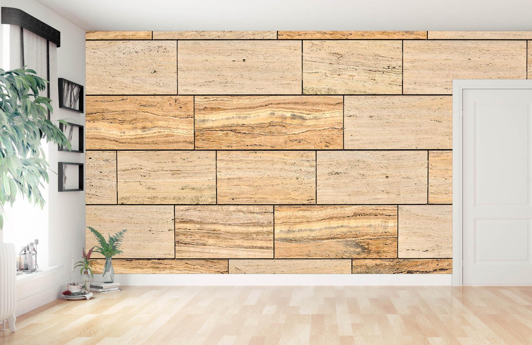 Steen behang - Marmeren muur - Wallexclusive - Slaapkamer 12