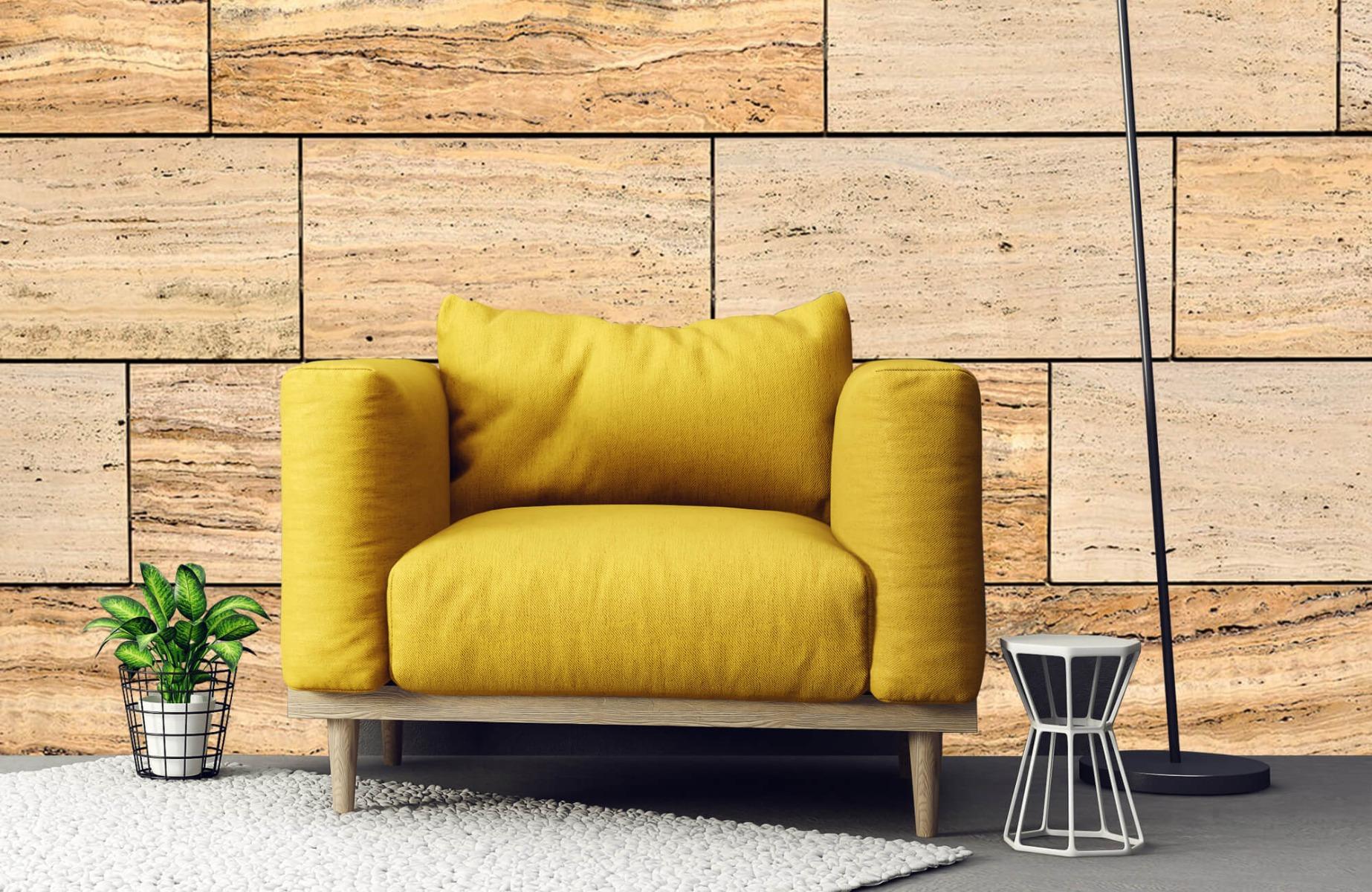 Steen behang - Marmeren muur - Wallexclusive - Slaapkamer 22