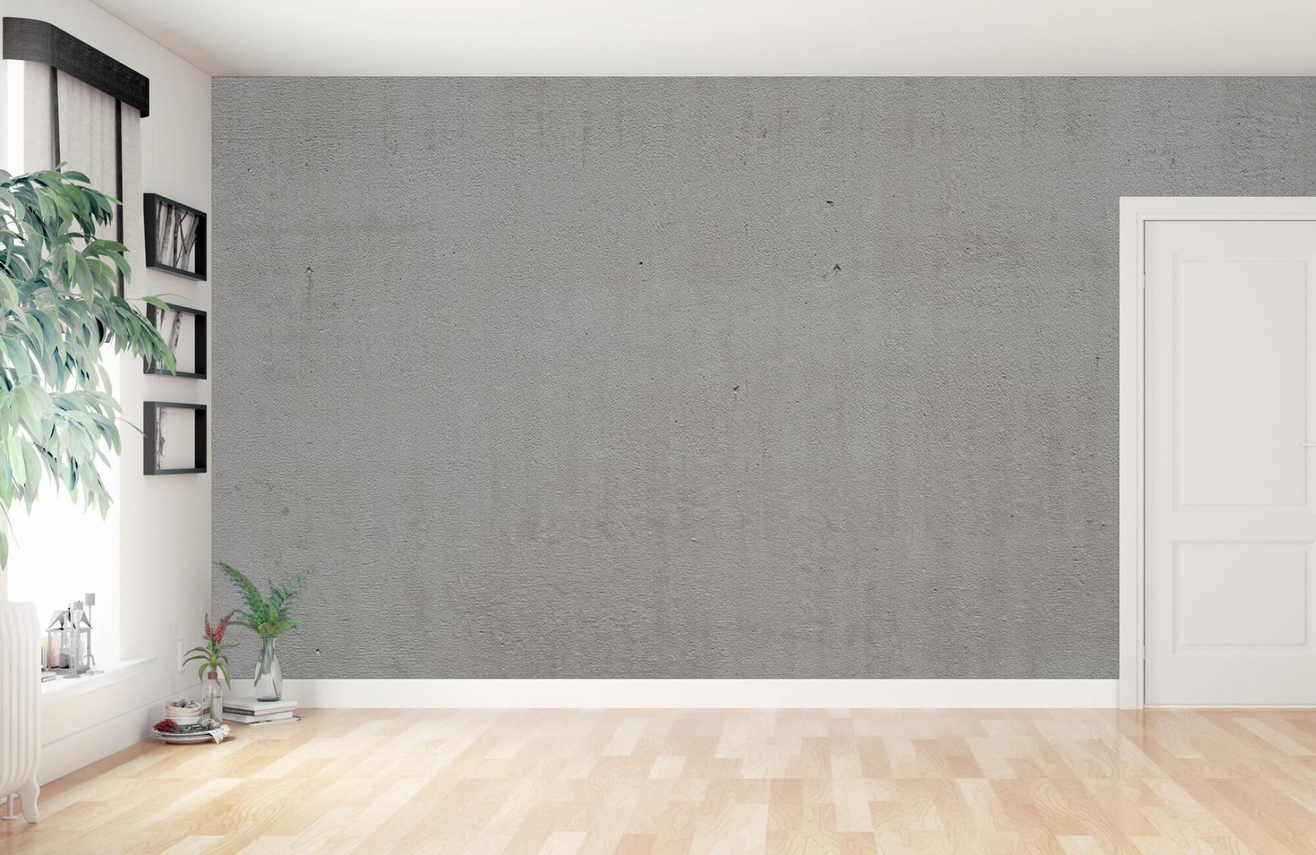 Betonlook behang - Grijs beton - Wallexclusive - Vergaderruimte 11