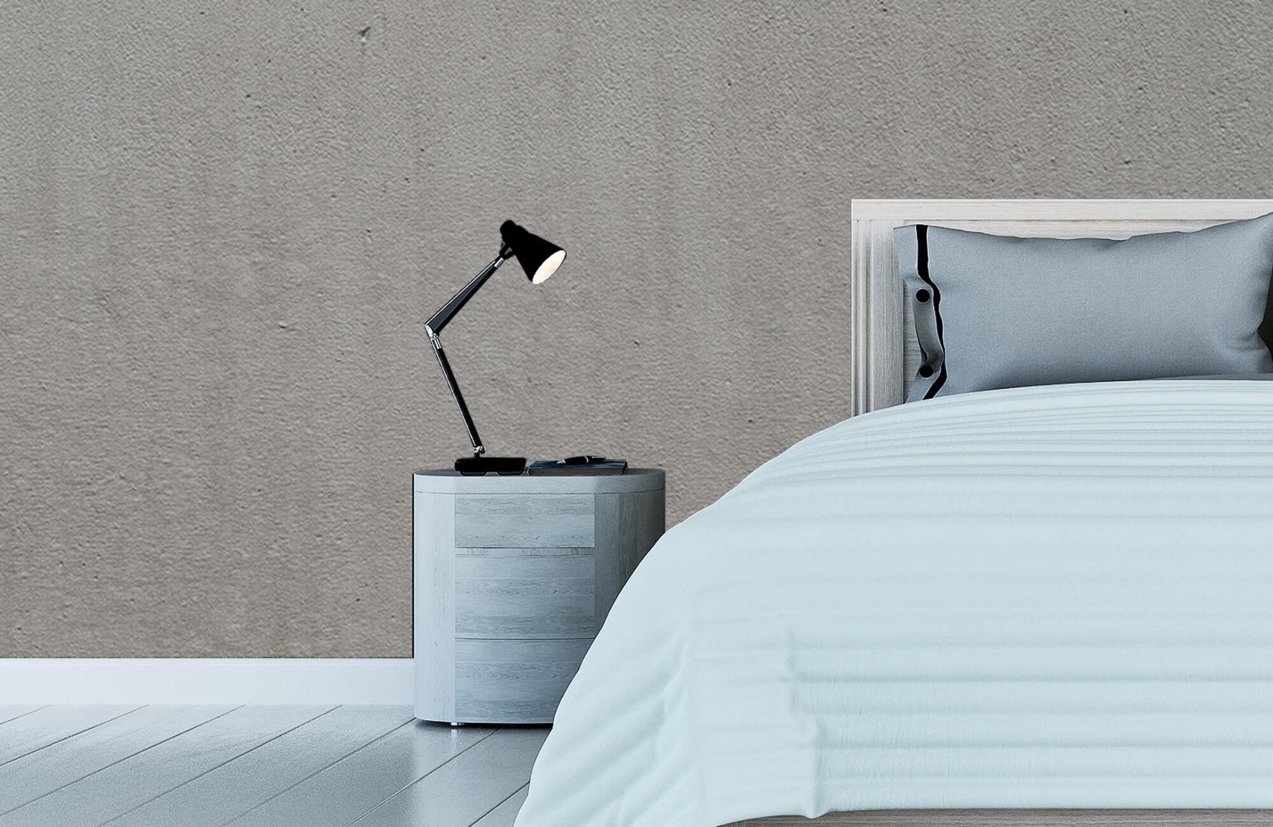 Betonlook behang - Grijs beton - Wallexclusive - Vergaderruimte 12