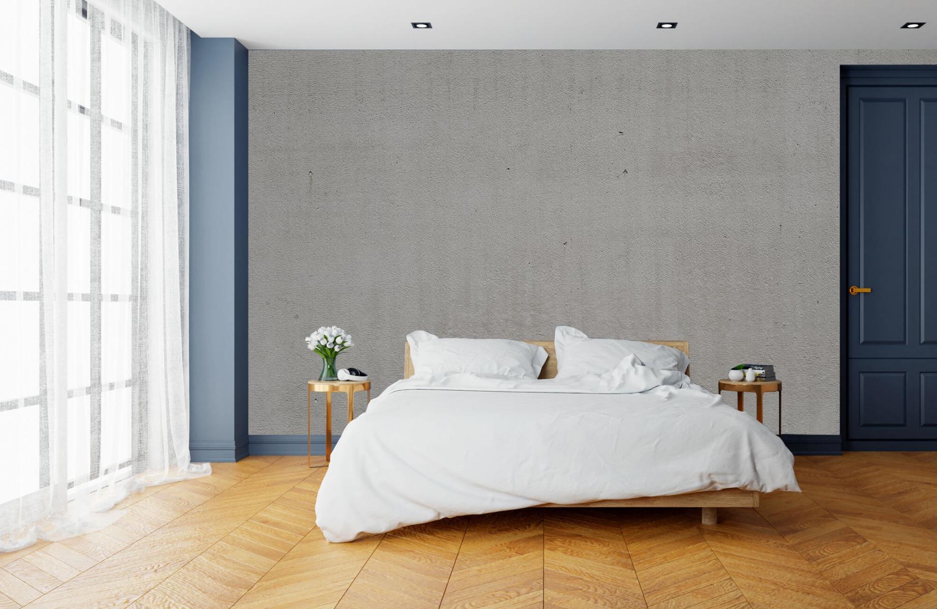 Betonlook behang - Grijs beton - Wallexclusive - Vergaderruimte 15