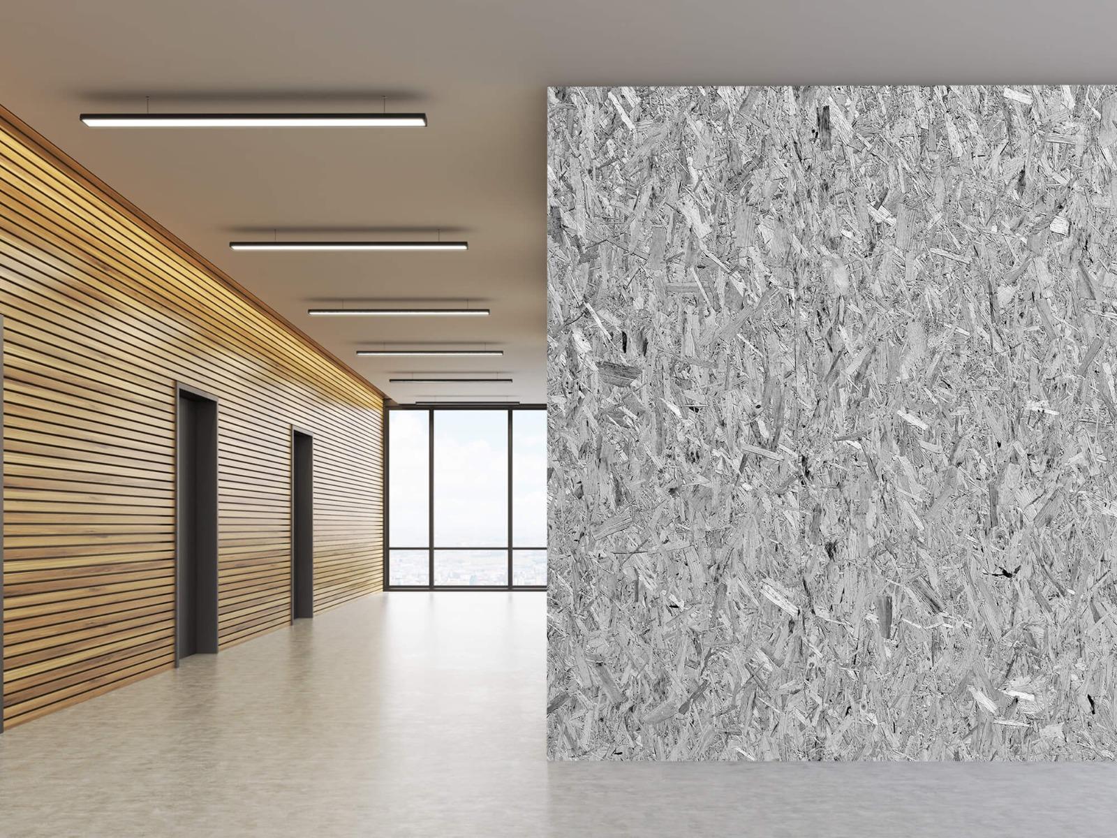 Hout behang - Spaanplaat - Wallexclusive - Woonkamer 7