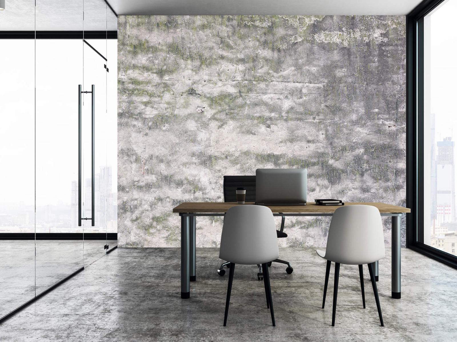 Betonlook behang - Oude muur - Wallexclusive - Tienerkamer 7