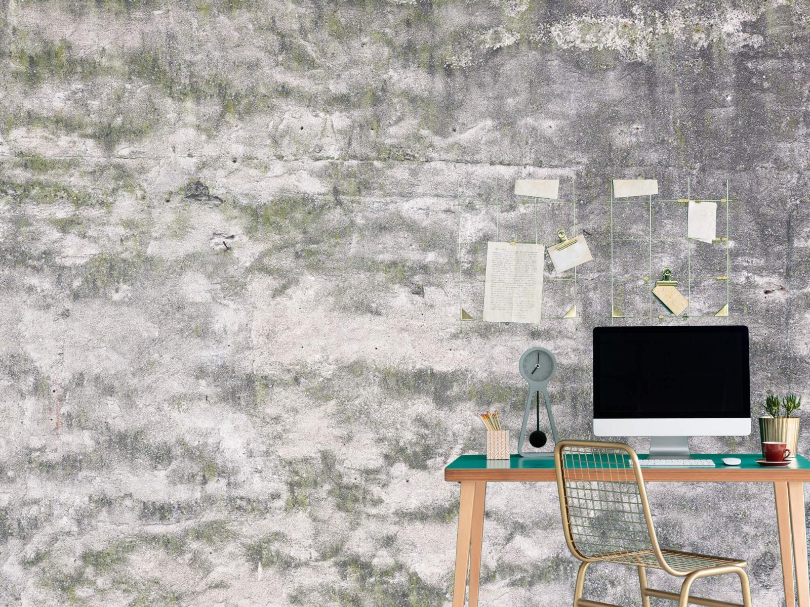Betonlook behang - Oude muur - Wallexclusive - Tienerkamer 3
