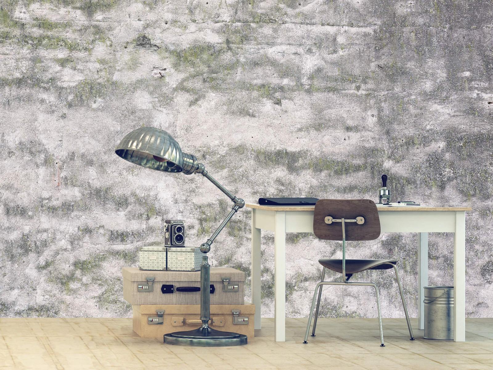 Betonlook behang - Oude muur - Wallexclusive - Tienerkamer 12