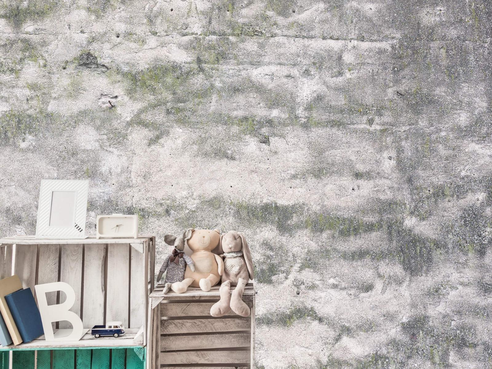 Betonlook behang - Oude muur - Wallexclusive - Tienerkamer 20