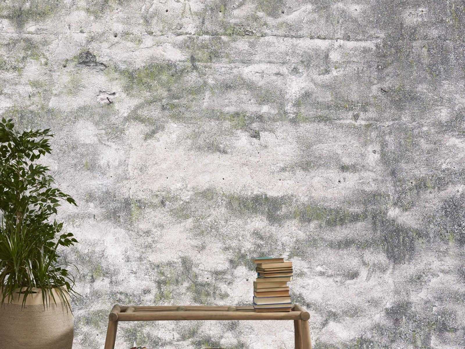 Betonlook behang - Oude muur - Wallexclusive - Tienerkamer 2