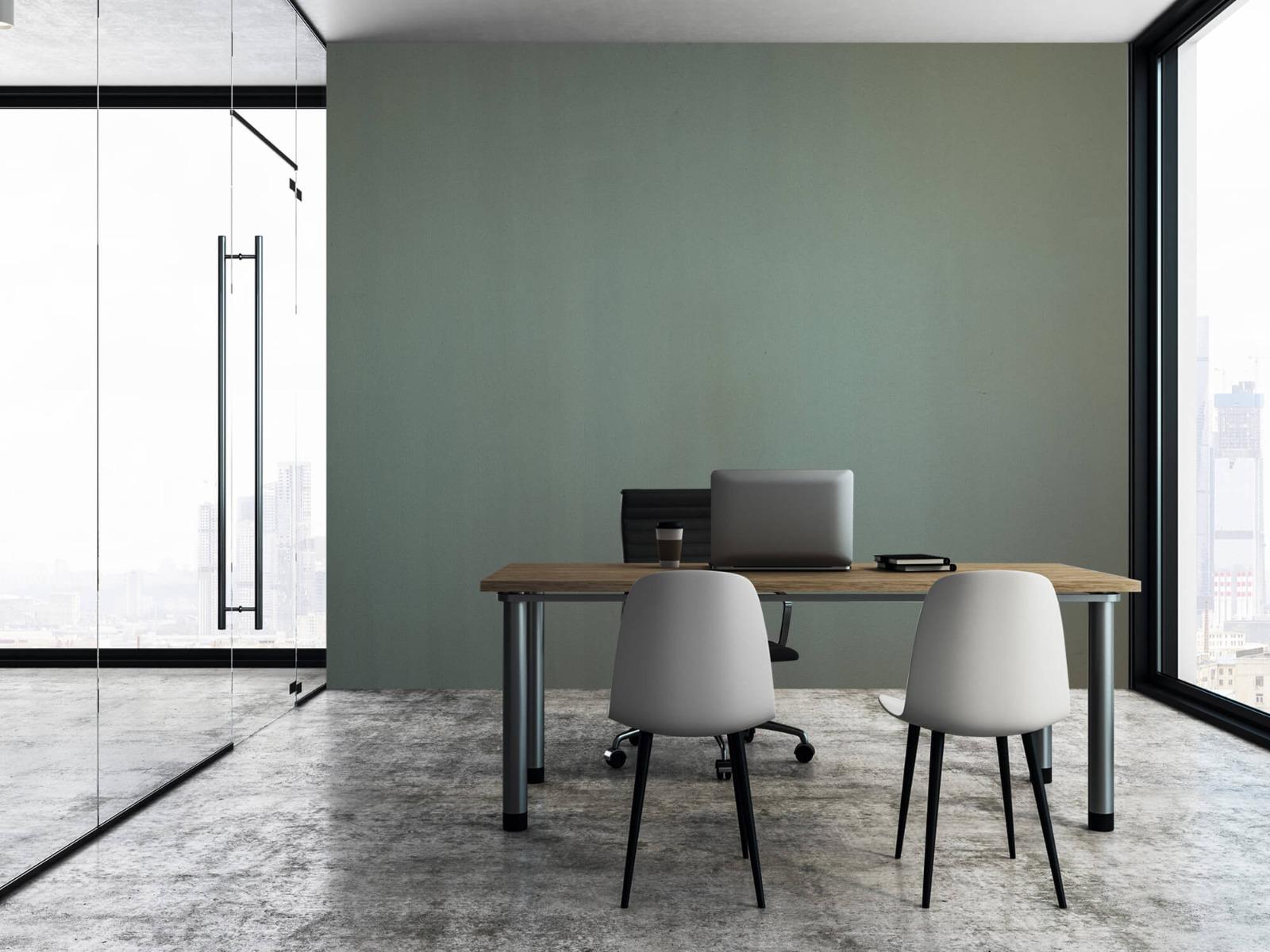Betonlook behang - Geschilderd beton - Wallexclusive - Woonkamer 7