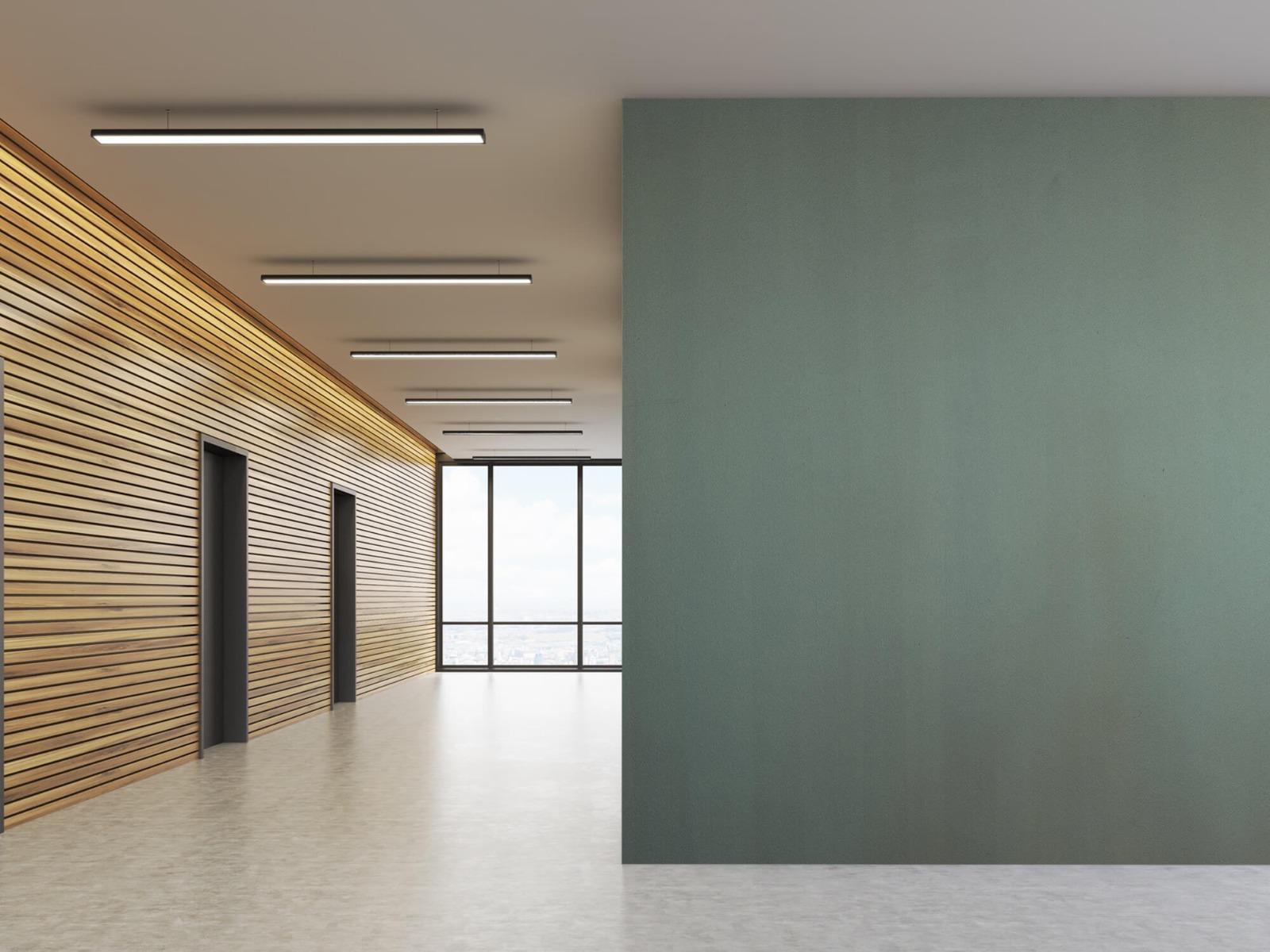 Betonlook behang - Geschilderd beton - Wallexclusive - Woonkamer 9