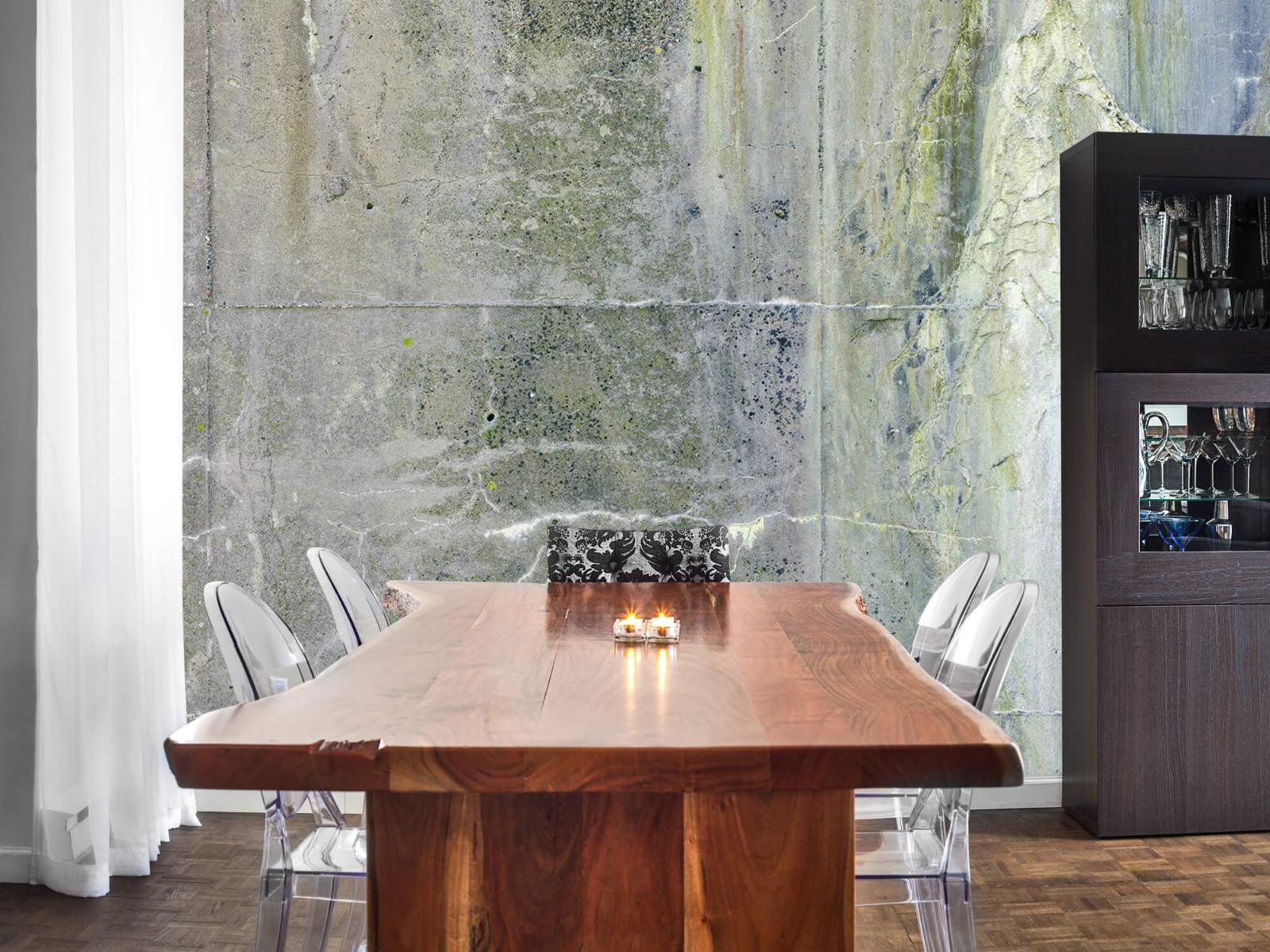 Betonlook behang - Verweerd beton - Wallexclusive - Tienerkamer 7