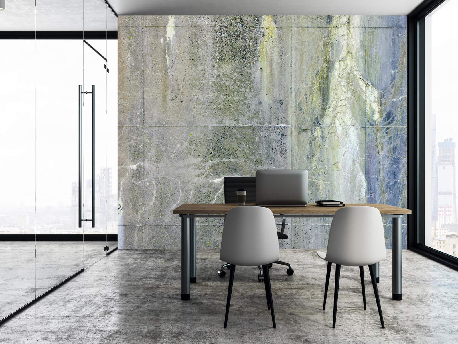 Betonlook behang - Verweerd beton - Wallexclusive - Tienerkamer 8