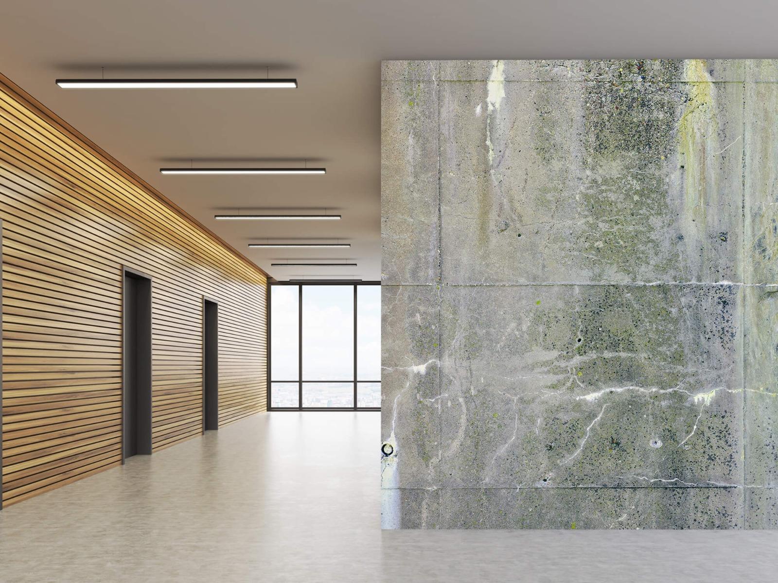 Betonlook behang - Verweerd beton - Wallexclusive - Tienerkamer 10