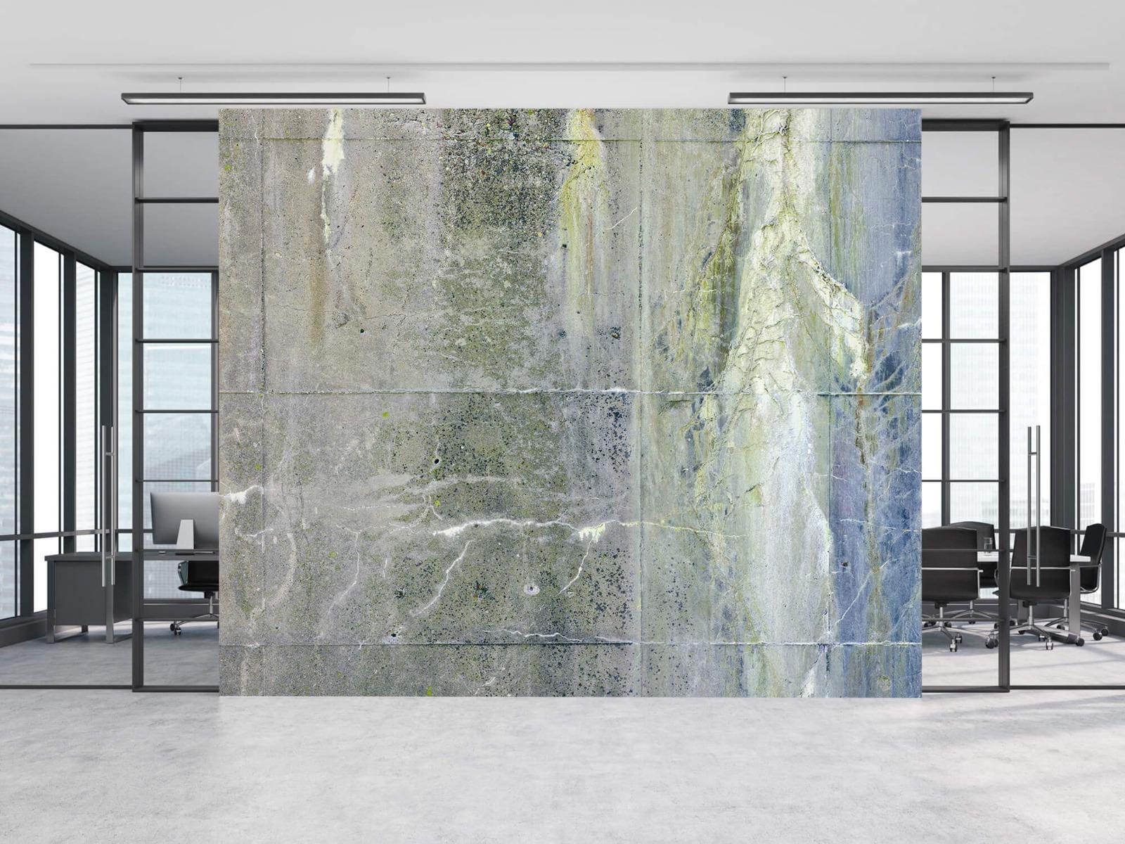 Betonlook behang - Verweerd beton - Wallexclusive - Tienerkamer 5