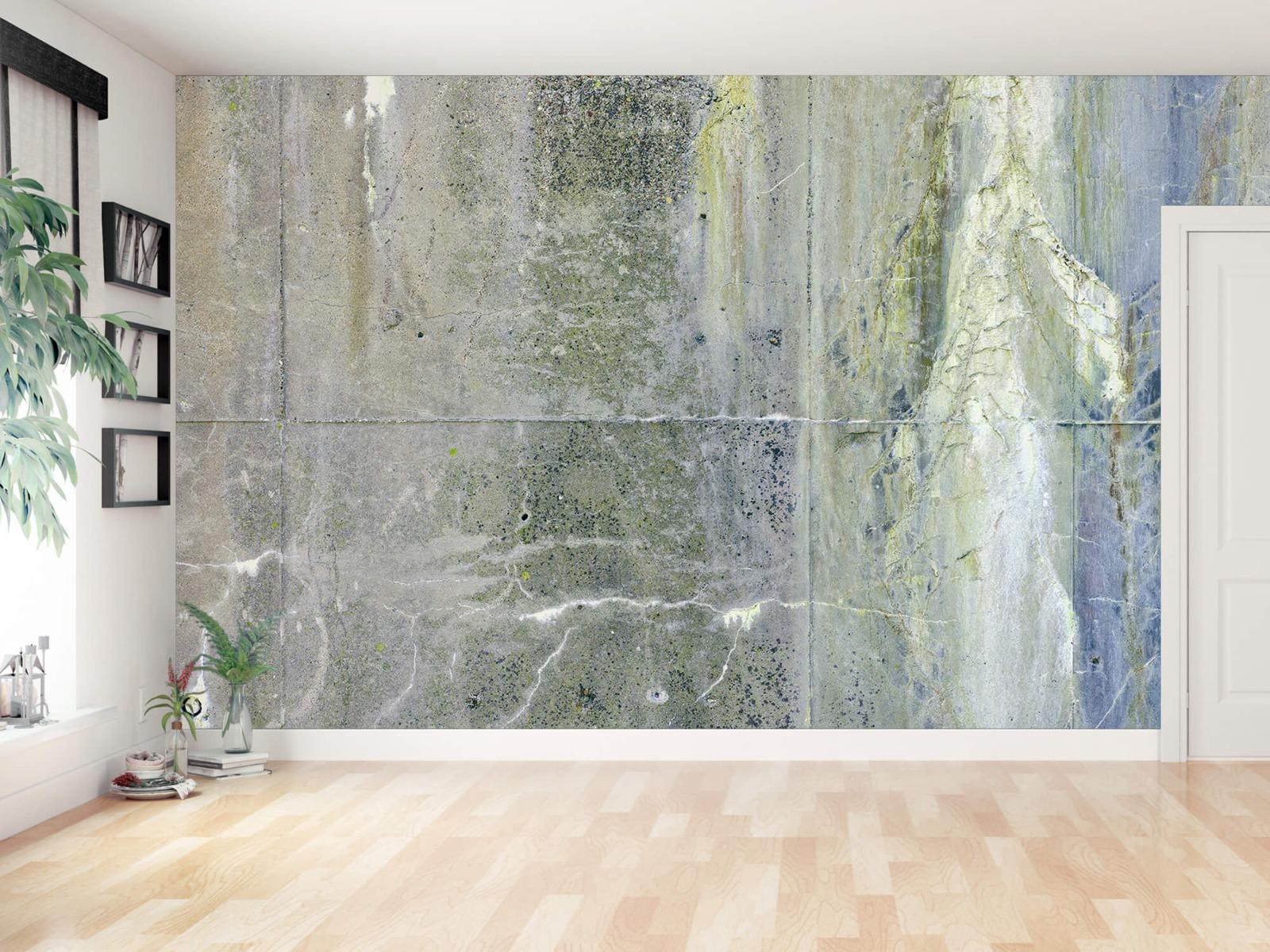 Betonlook behang - Verweerd beton - Wallexclusive - Tienerkamer 13