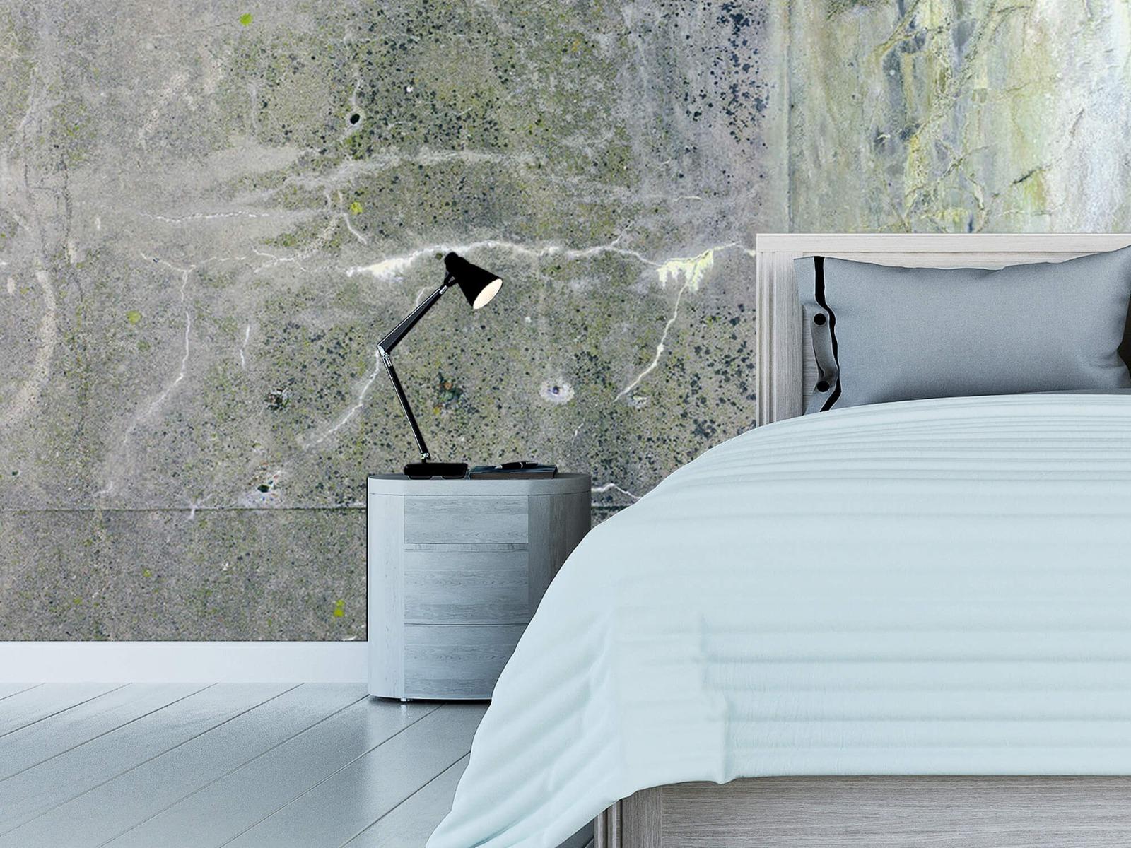 Betonlook behang - Verweerd beton - Wallexclusive - Tienerkamer 14