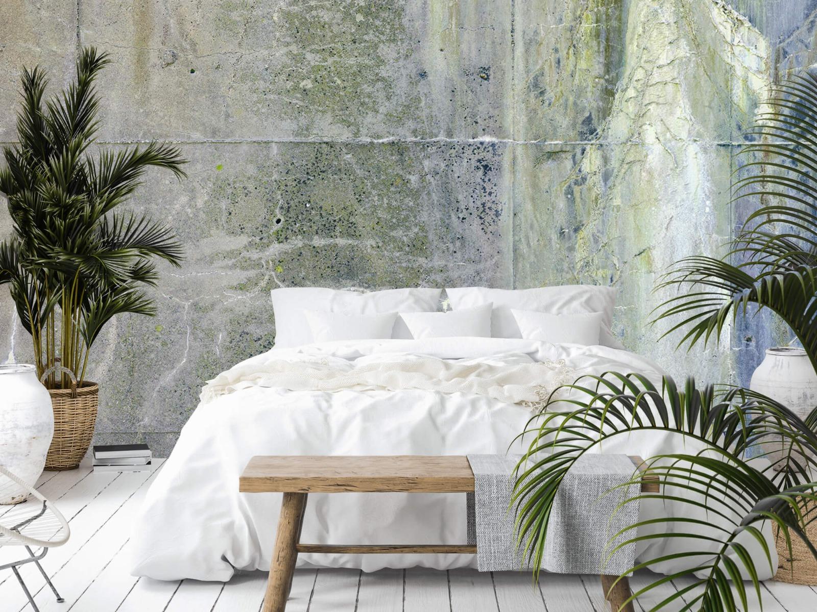 Betonlook behang - Verweerd beton - Wallexclusive - Tienerkamer 15
