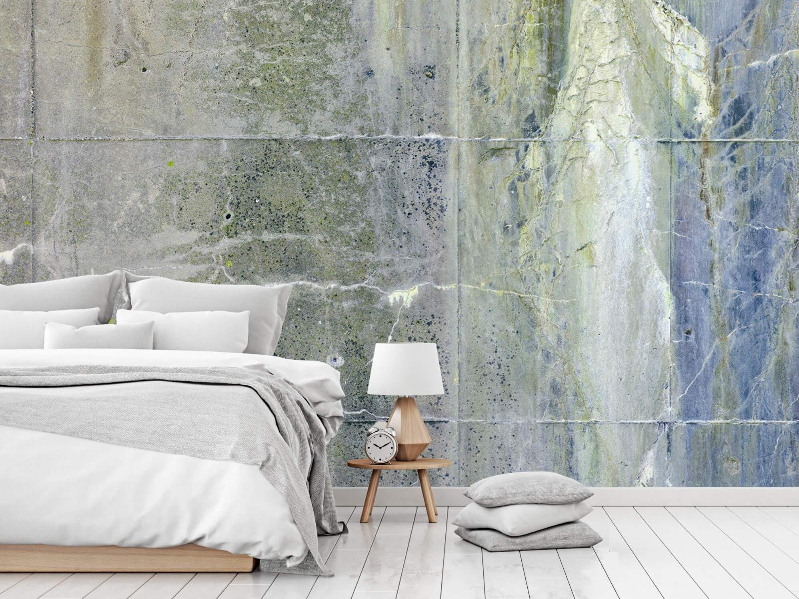 Betonlook behang - Verweerd beton - Wallexclusive - Tienerkamer 16