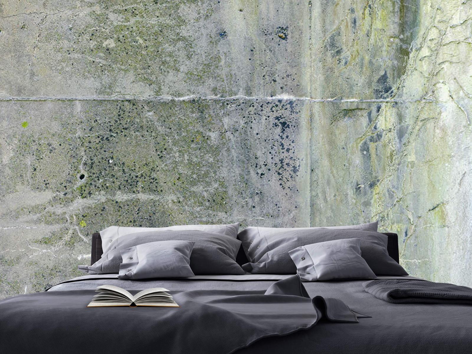 Betonlook behang - Verweerd beton - Wallexclusive - Tienerkamer 18