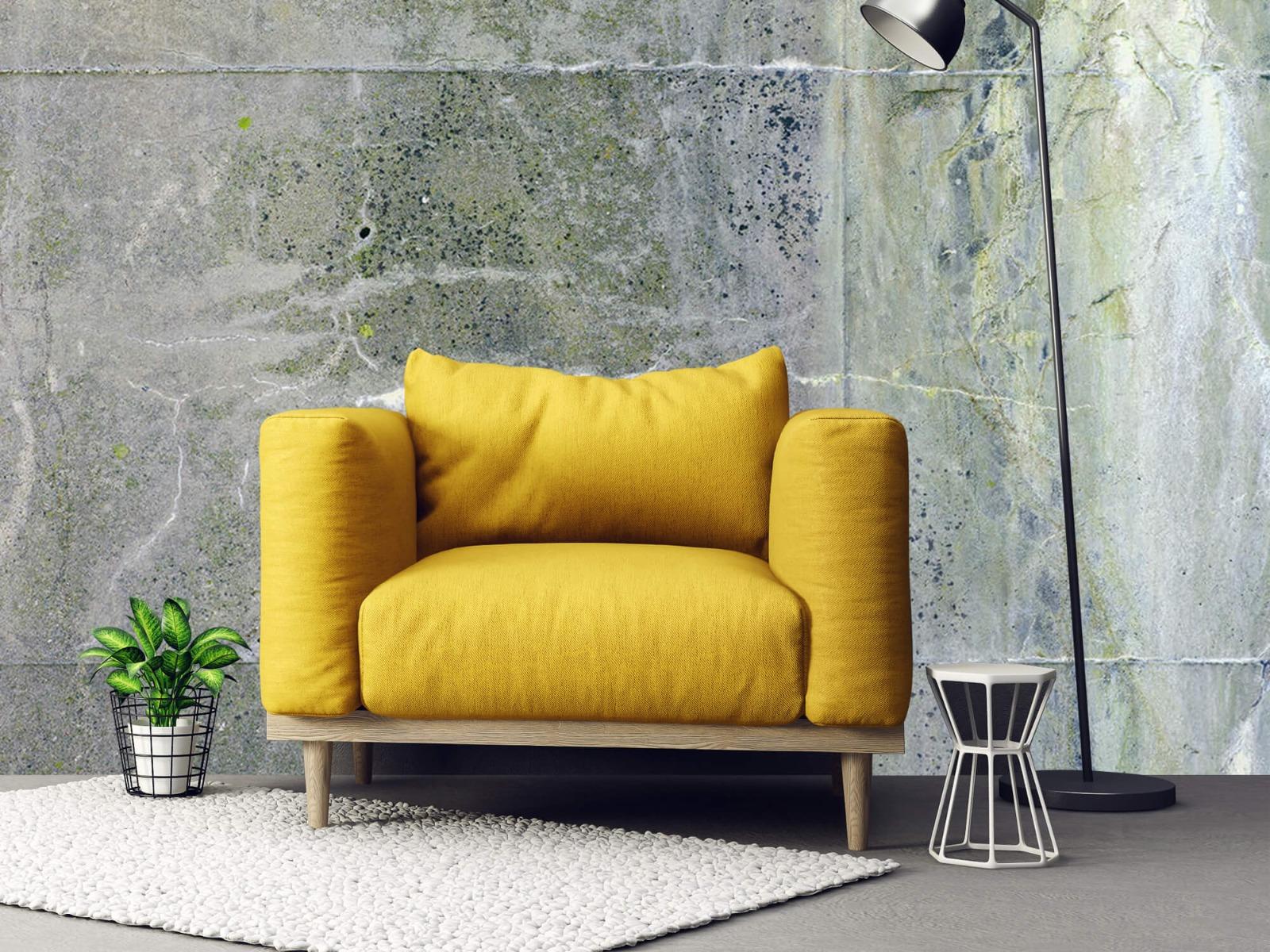 Betonlook behang - Verweerd beton - Wallexclusive - Tienerkamer 22