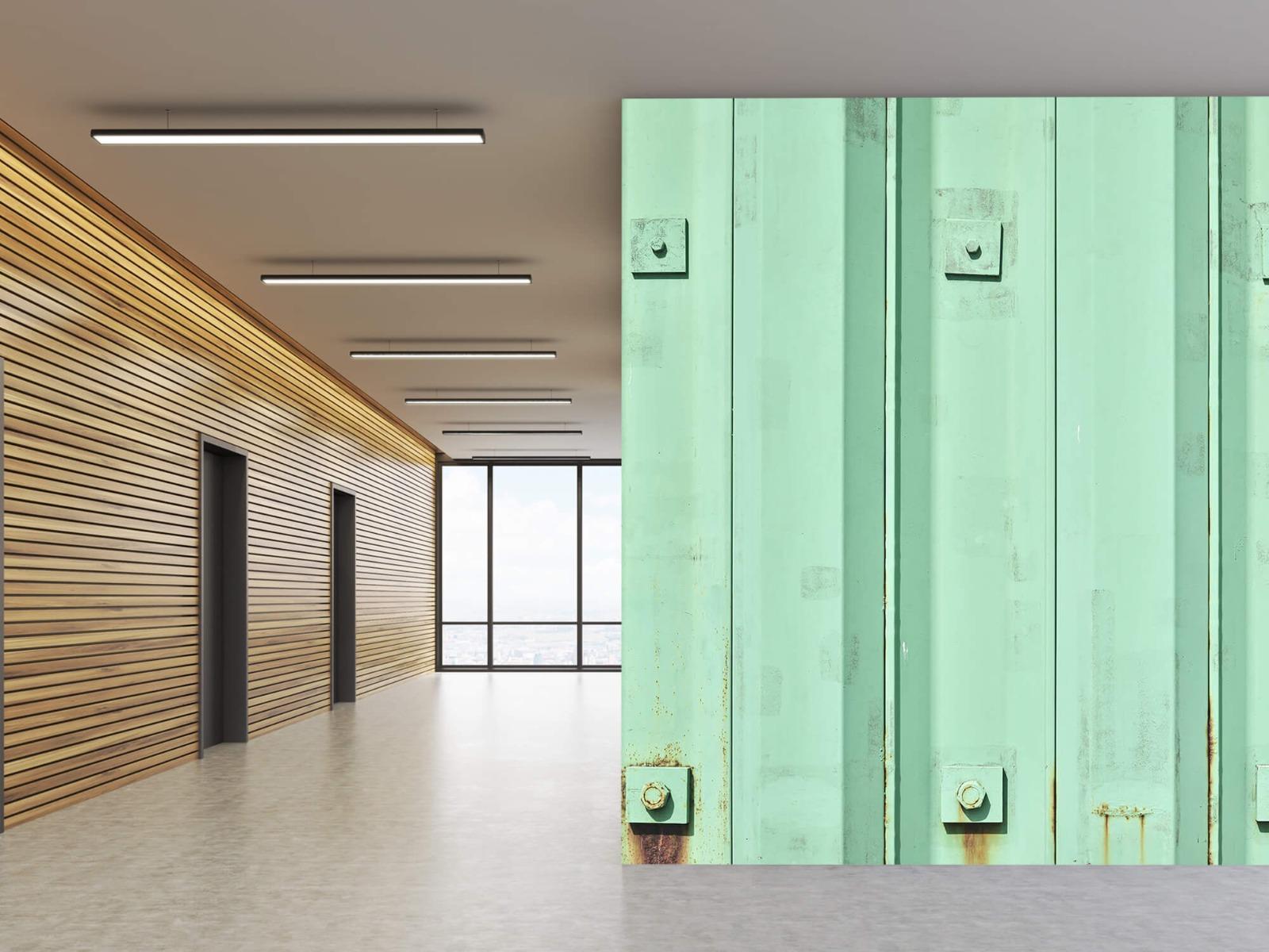 Elementen - Groene damwand - Wallexclusive - Woonkamer 10