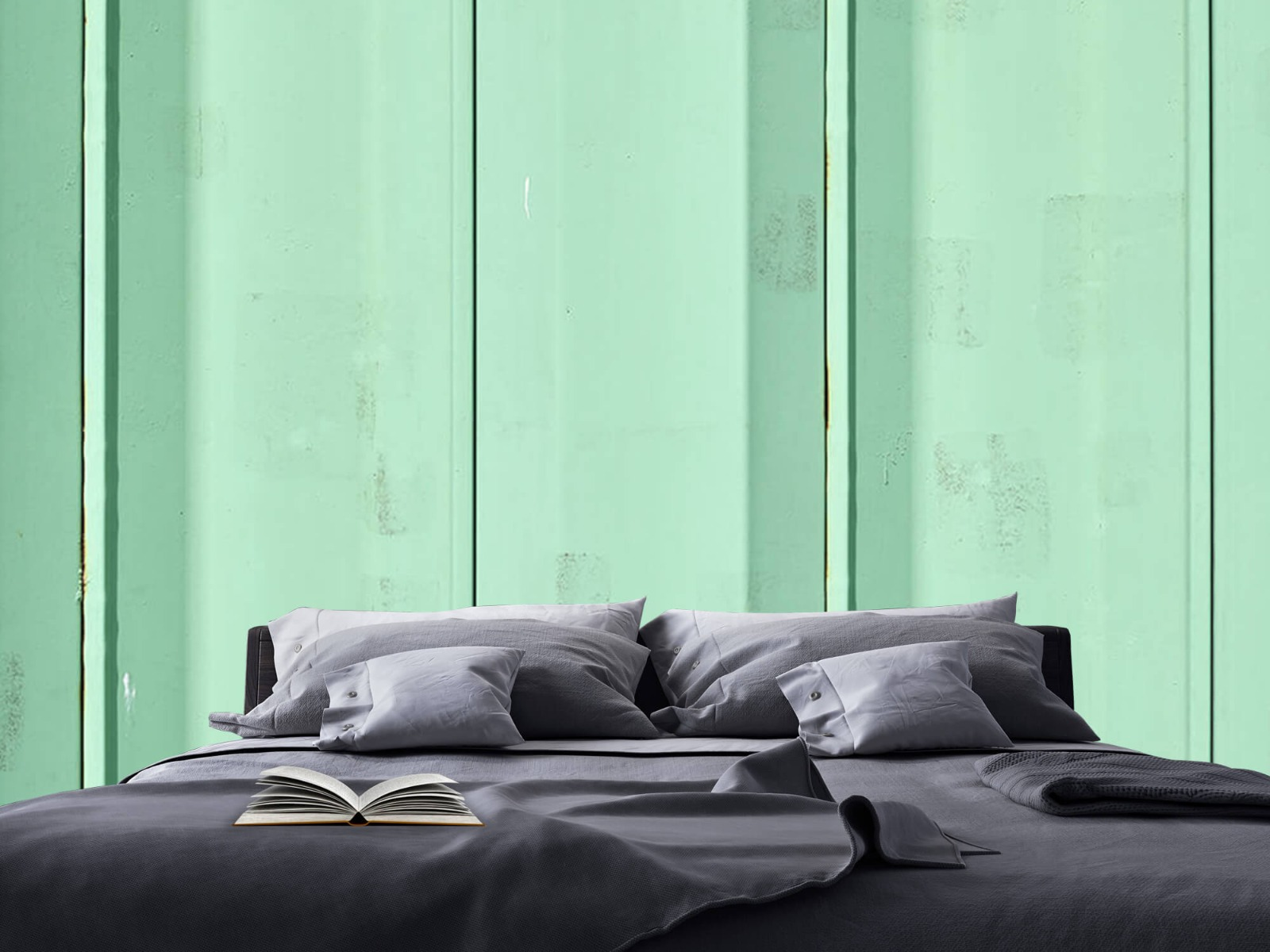 Elementen - Groene damwand - Wallexclusive - Woonkamer 18