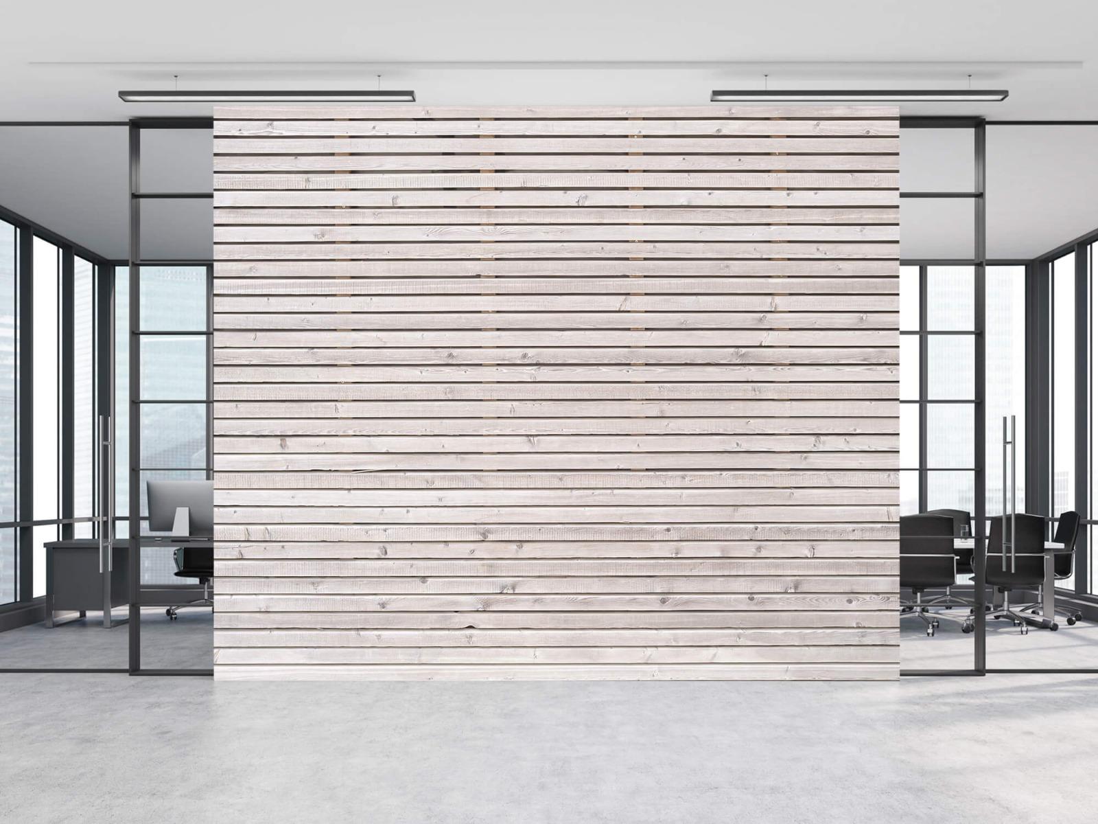 Hout behang - Horizontale planken - Wallexclusive - Woonkamer 10