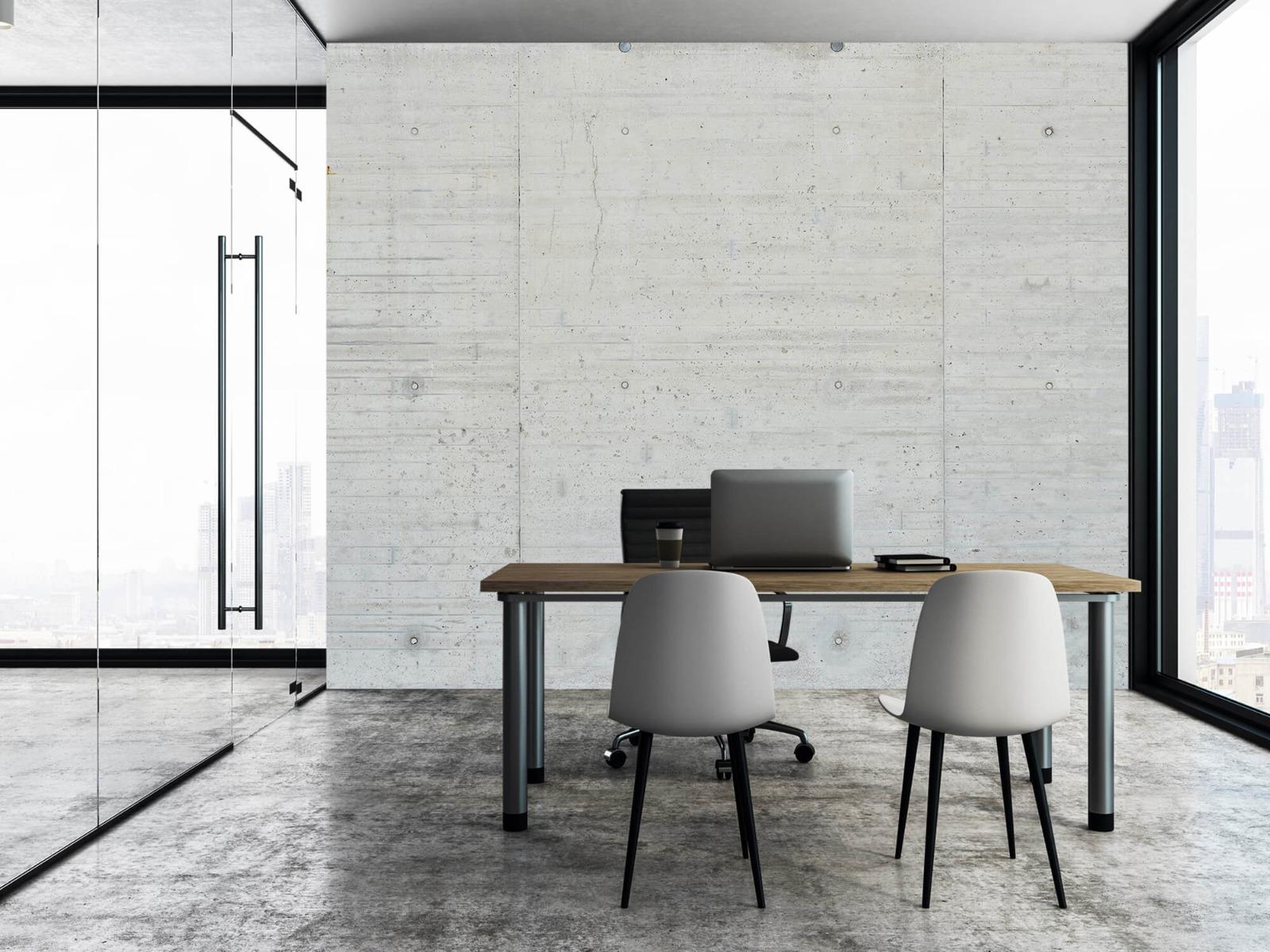 Betonlook behang - Beton stroken - Wallexclusive - Magazijn 3