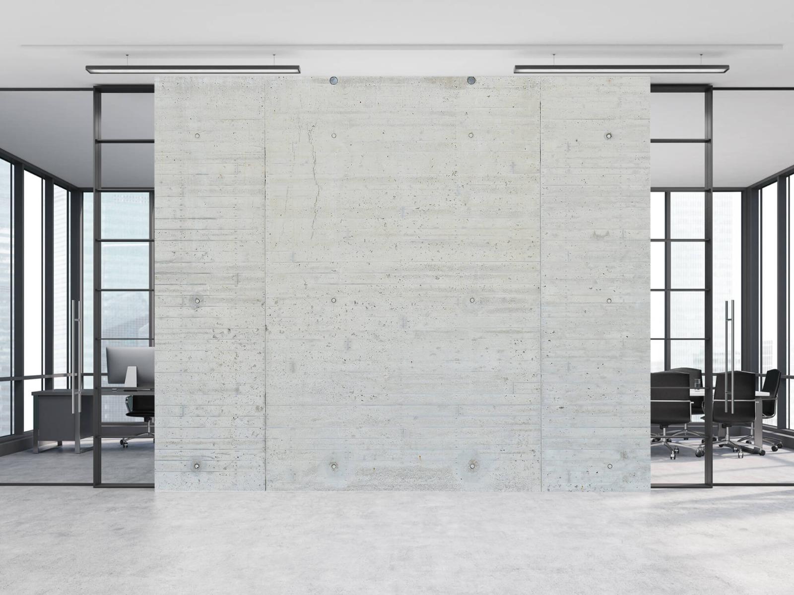 Betonlook behang - Beton stroken - Wallexclusive - Magazijn 8