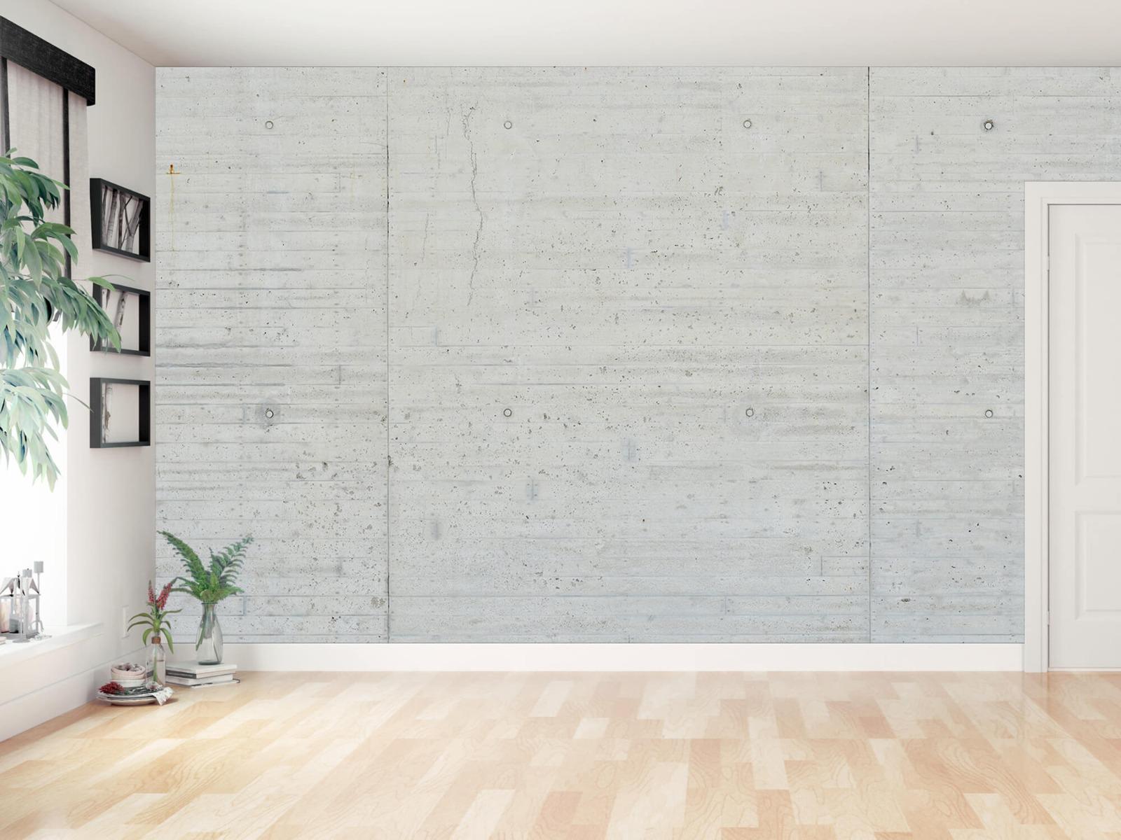 Betonlook behang - Beton stroken - Wallexclusive - Magazijn 11