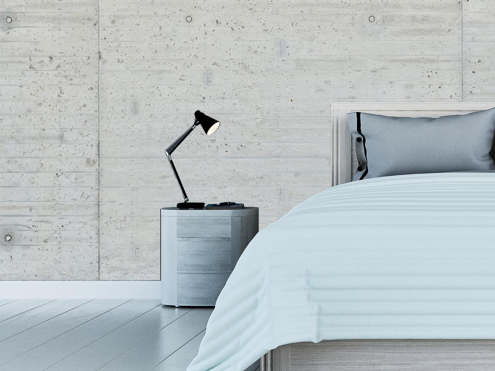 Betonlook behang - Beton stroken - Wallexclusive - Magazijn 12
