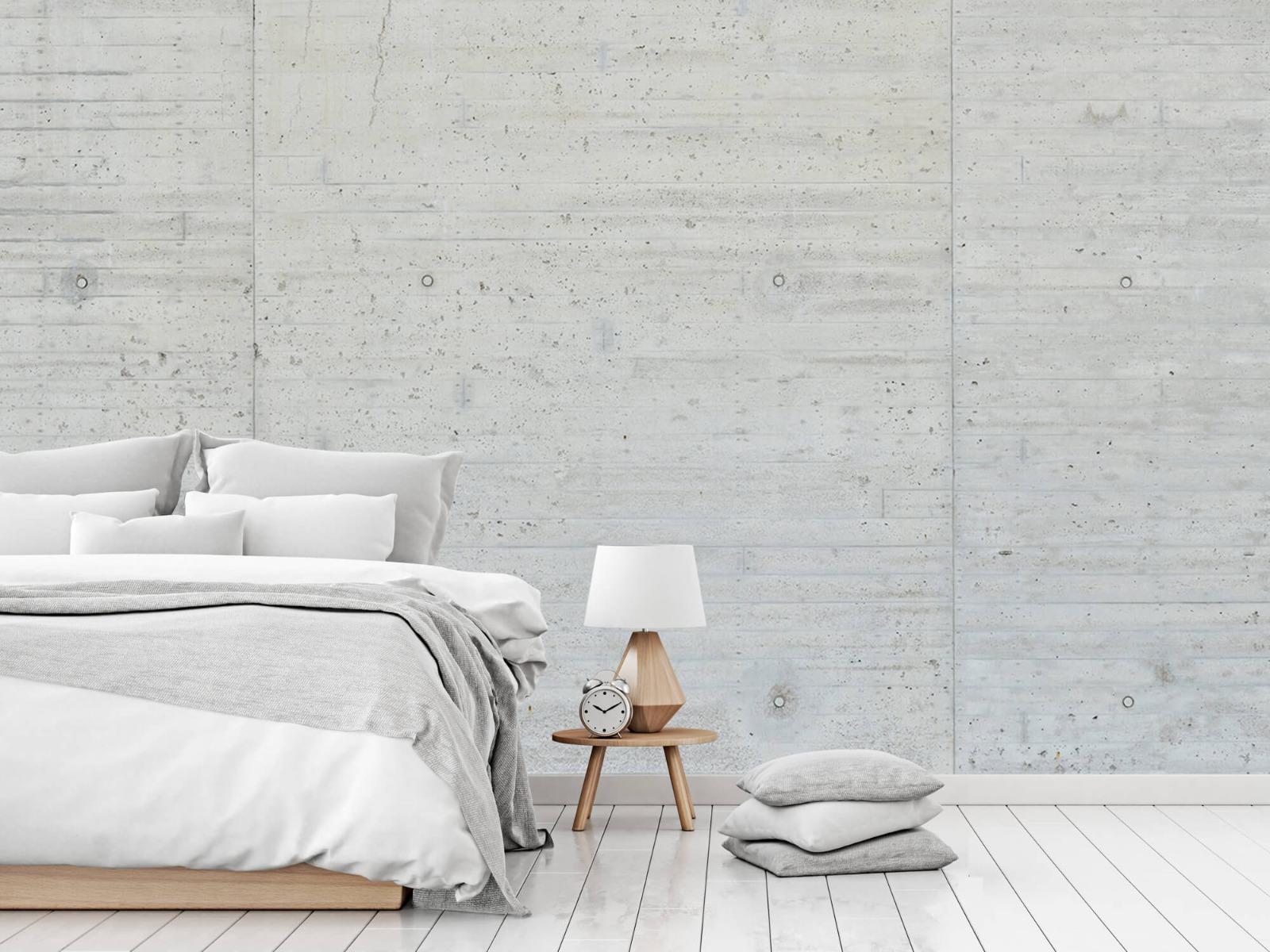 Betonlook behang - Beton stroken - Wallexclusive - Magazijn 14