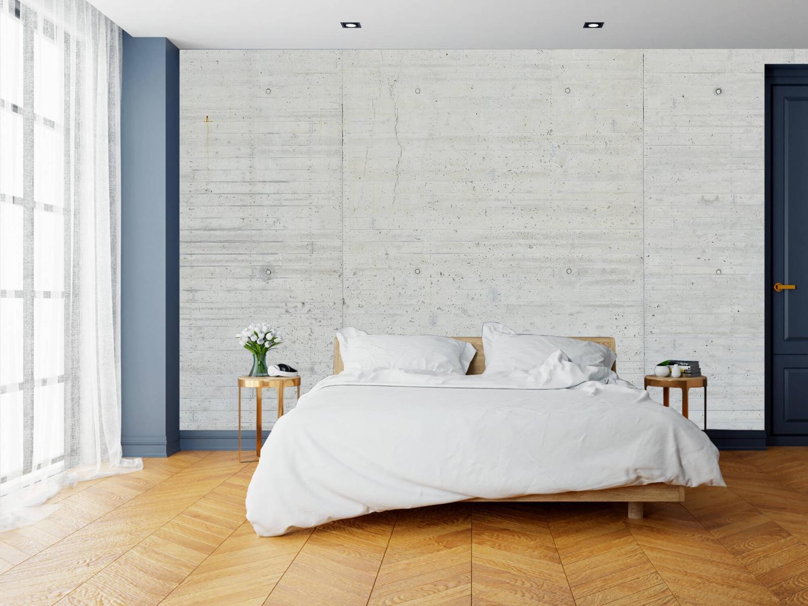Betonlook behang - Beton stroken - Wallexclusive - Magazijn 15