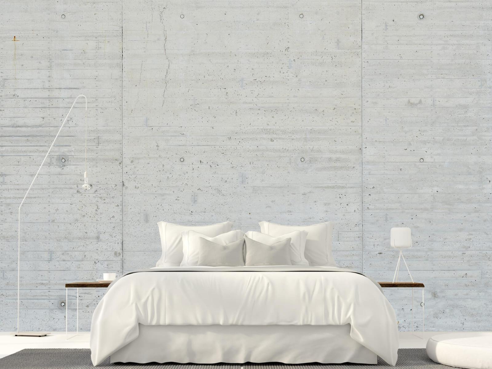 Betonlook behang - Beton stroken - Wallexclusive - Magazijn 16
