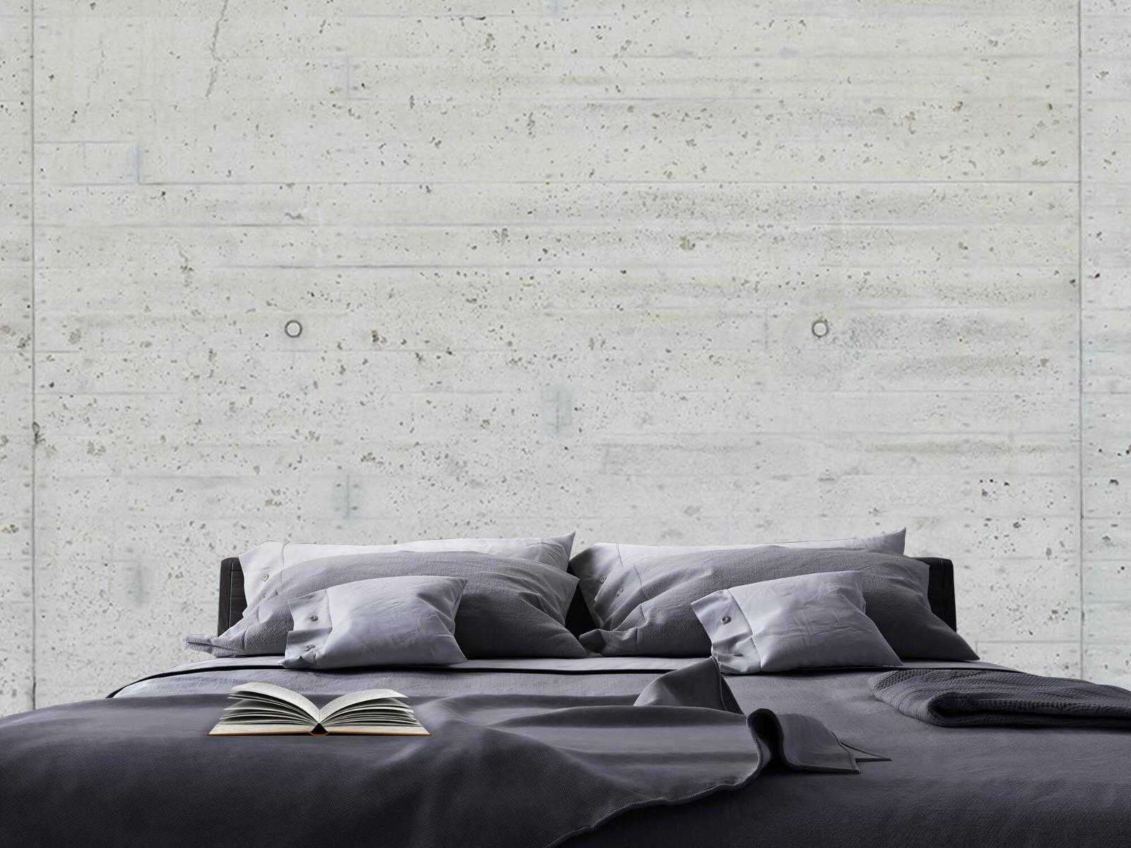 Betonlook behang - Beton stroken - Wallexclusive - Magazijn 17