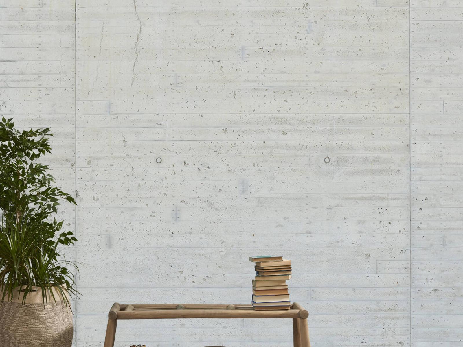 Betonlook behang - Beton stroken - Wallexclusive - Magazijn 20