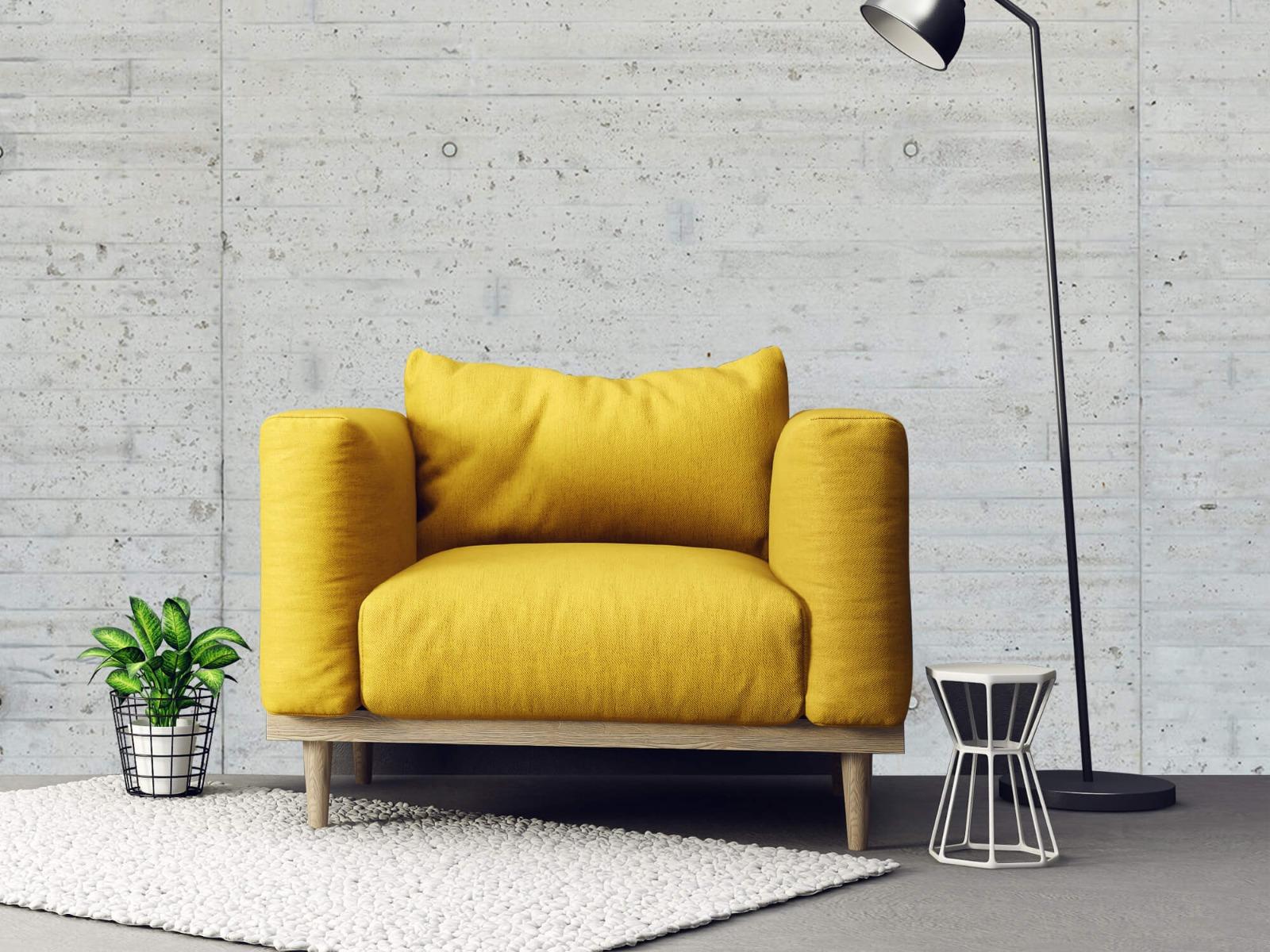 Betonlook behang - Beton stroken - Wallexclusive - Magazijn 21